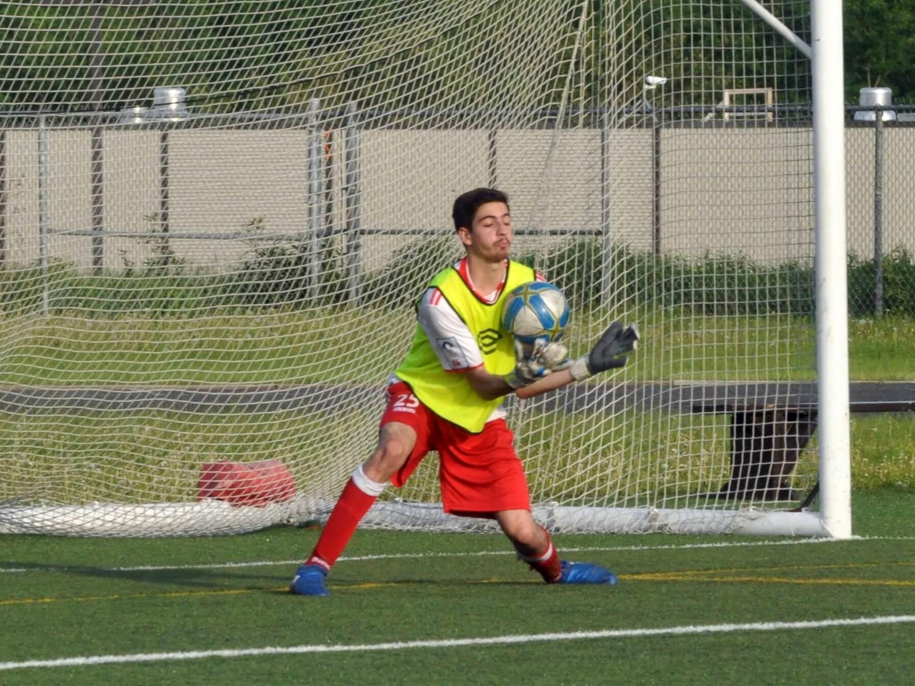 Boreal U21 Isaac Lajeunesse