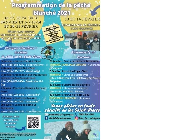 programmation lac St-Pierre