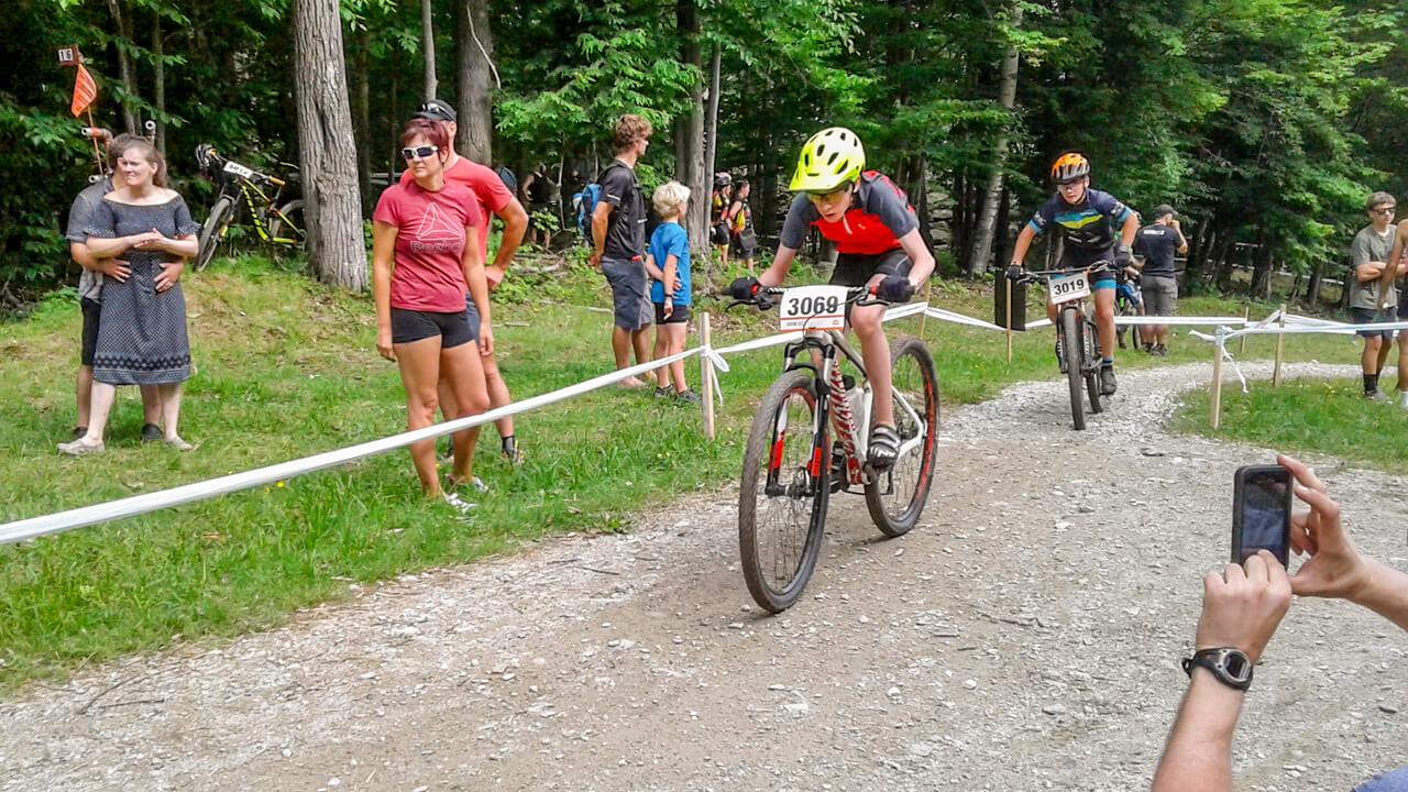Hubert Ouellet Matane club vélo Éolien vélo de montagne Gala méritas sportif Bas-Saint-Laurent