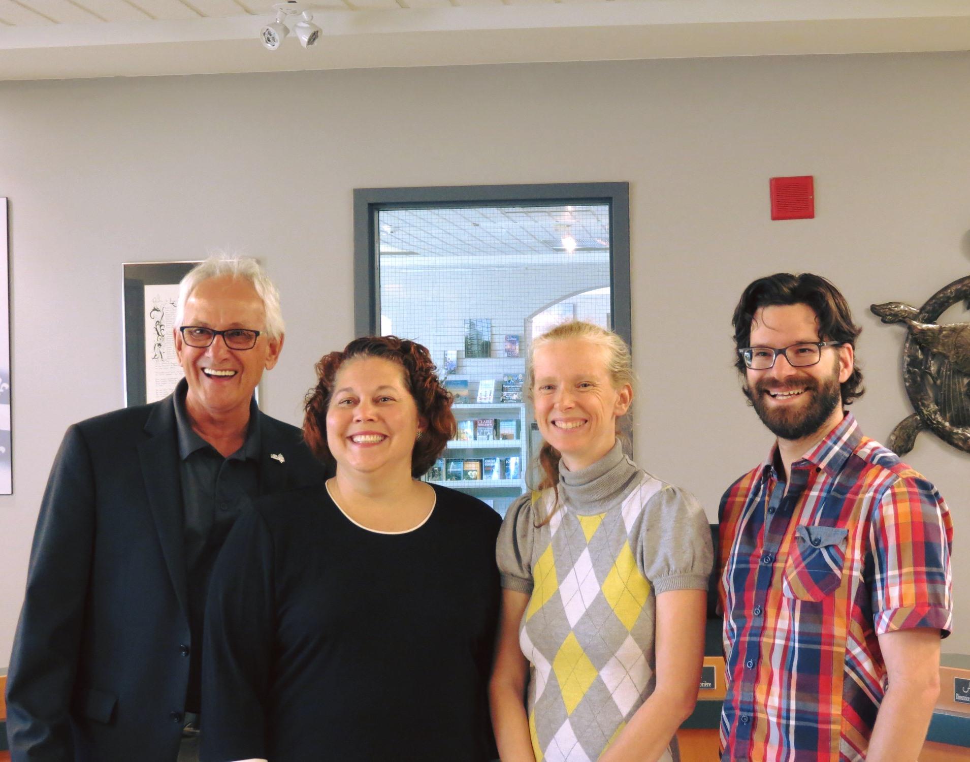 Symposium des arts en Nouvelle-Acadie