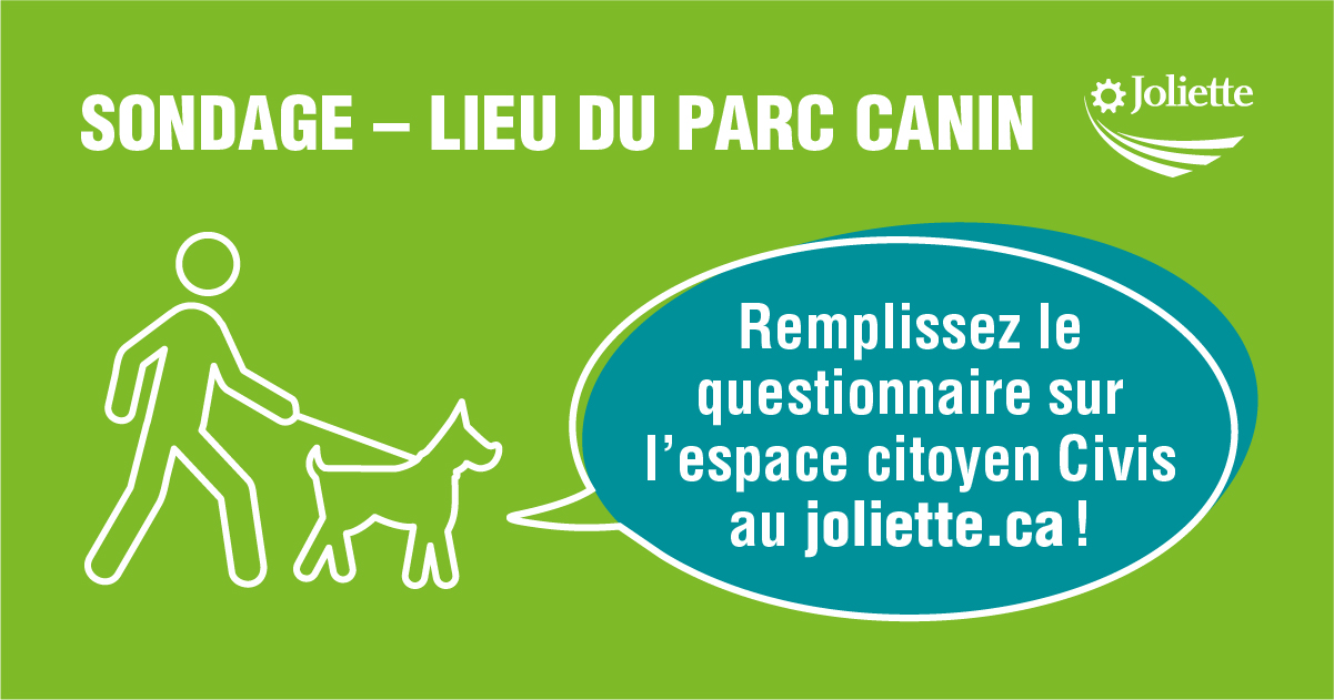 Sondage parc canin