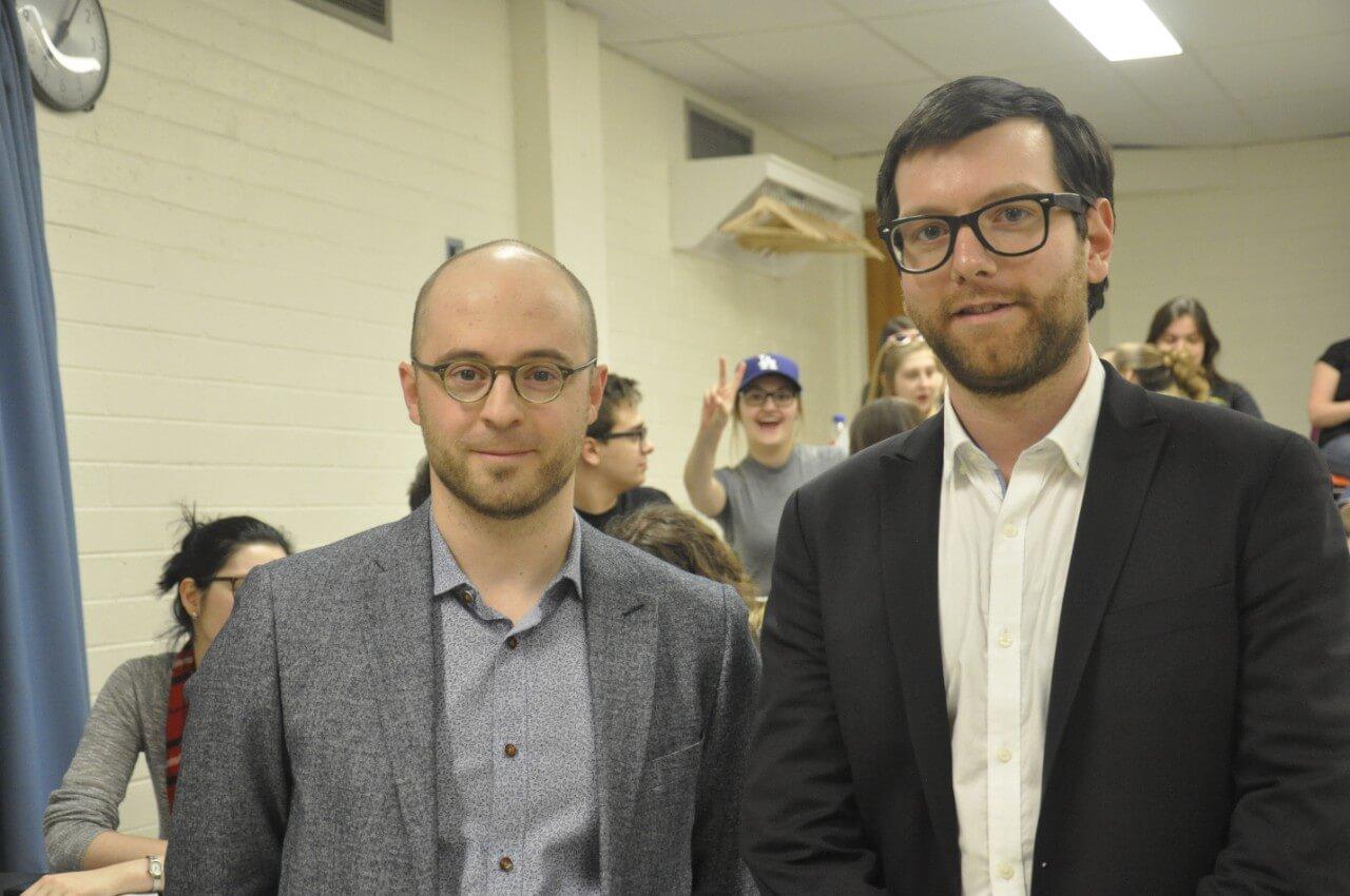Deux chefs débattent de l'avenir du Québec à Matane