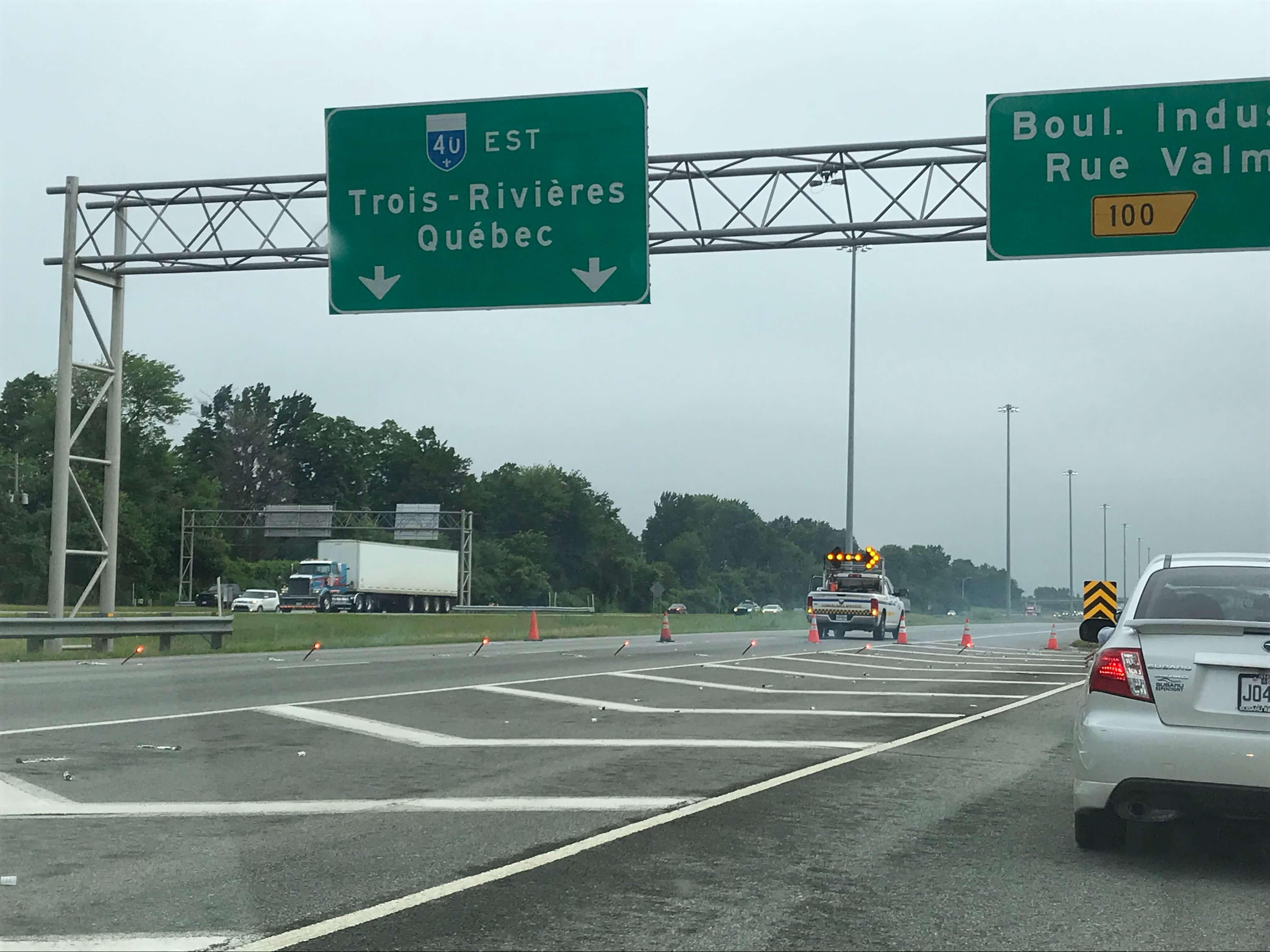autoroute 40 est fermeture