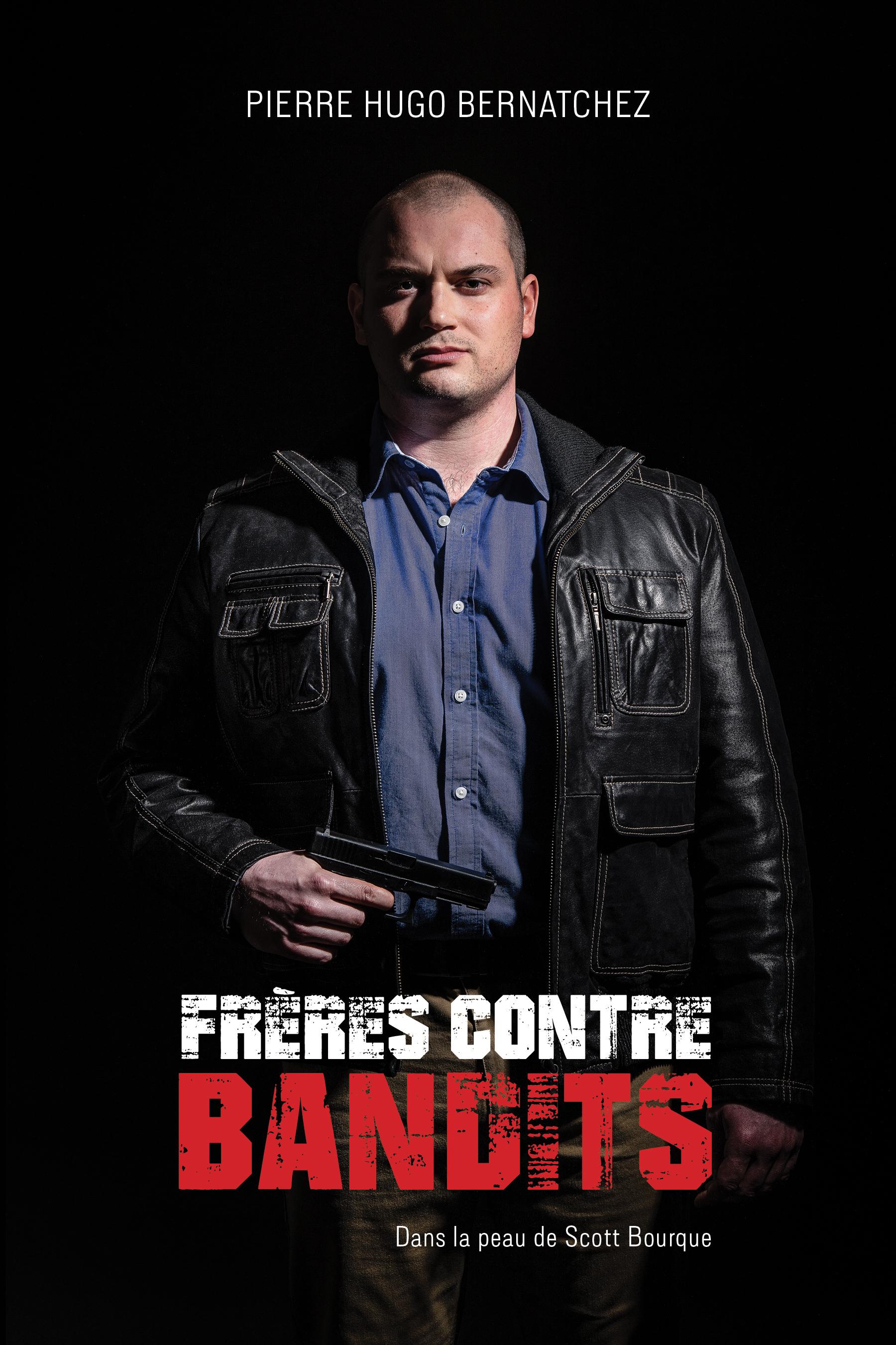 Le Rimouskois Pierre Hugo Bernatchez a annoncé sur les réseaux sociaux, aujourd'hui, la sortie de son roman policier « Frères contre bandits ».