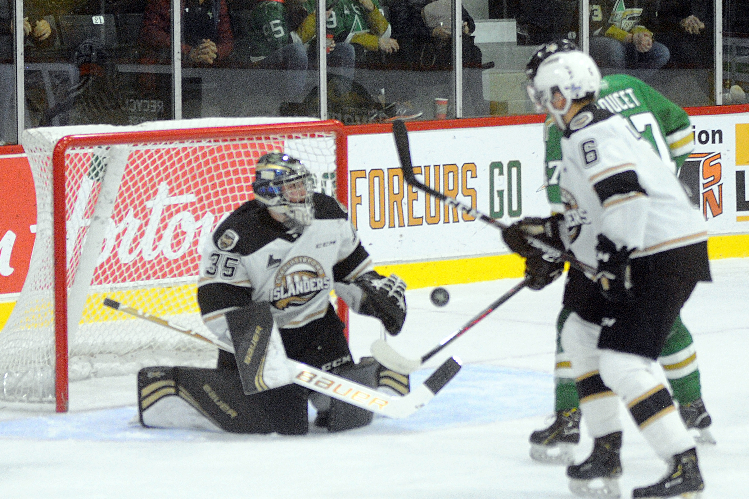 Islanders Charlottetown - Foreurs Val-d'Or