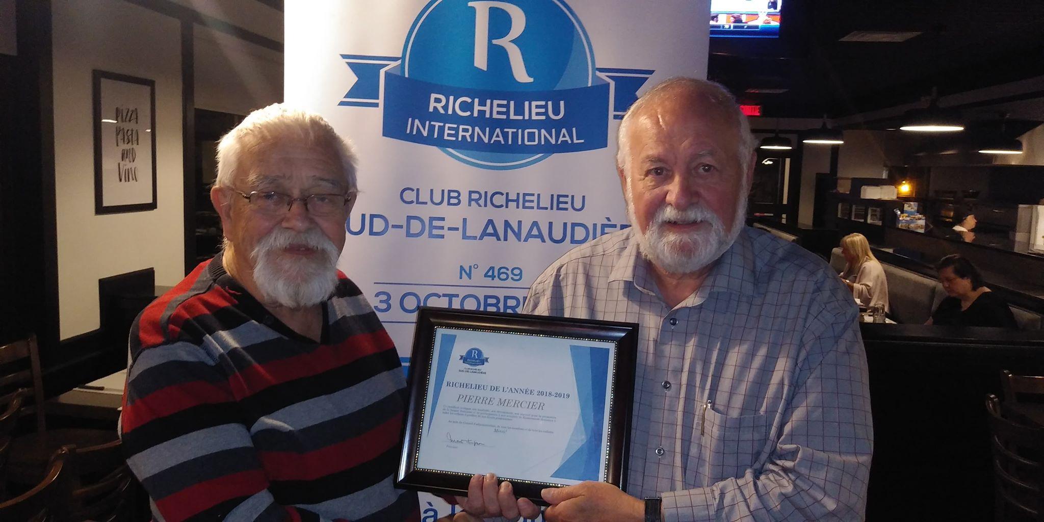 Club Richelieu sud de Lanaudière