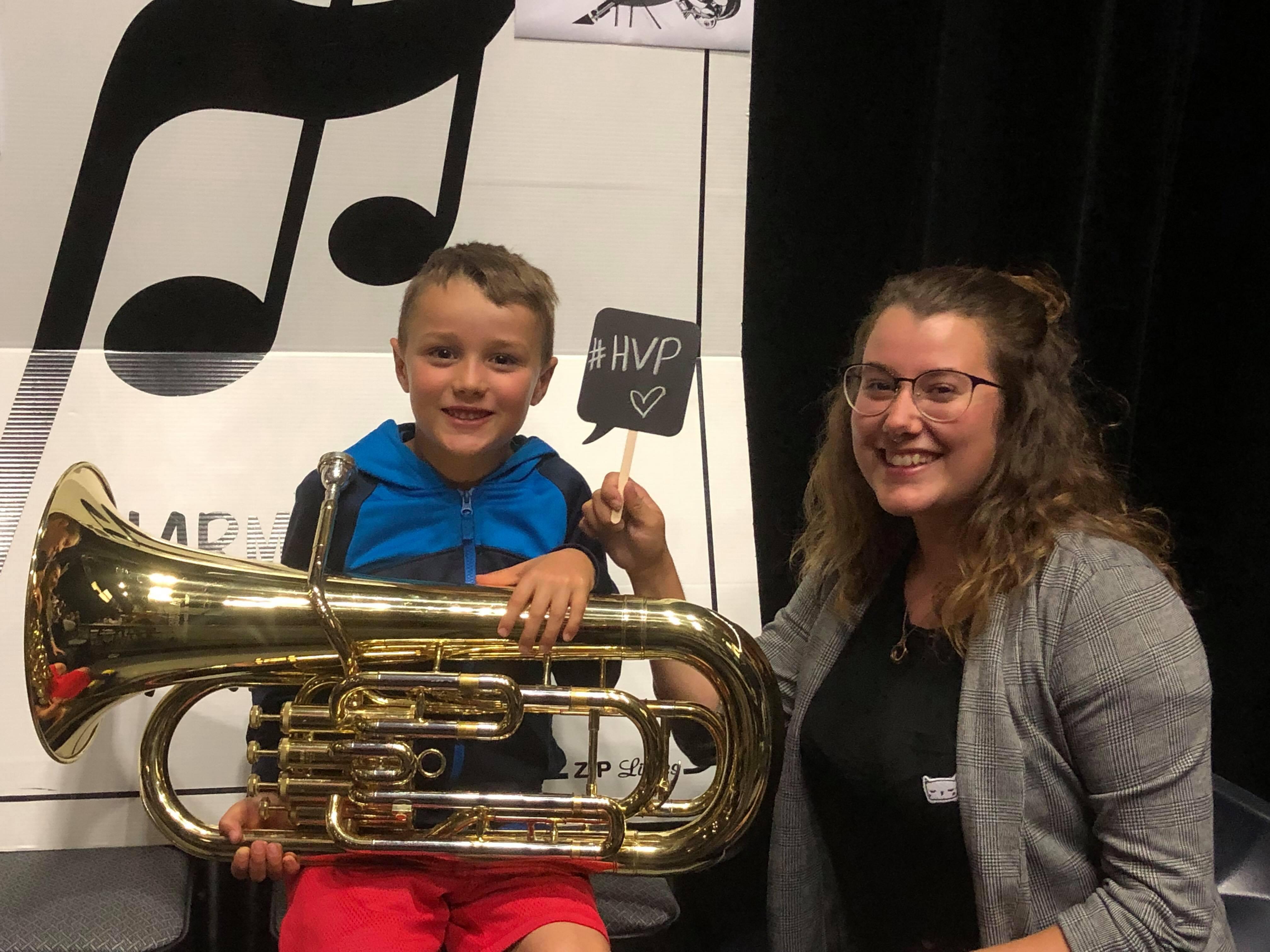 Harmonie vents primaire Gabrielle Blais