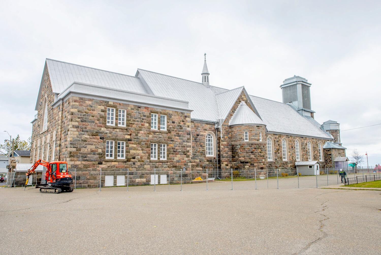 Église Saint-Jérôme de Matane clôtures