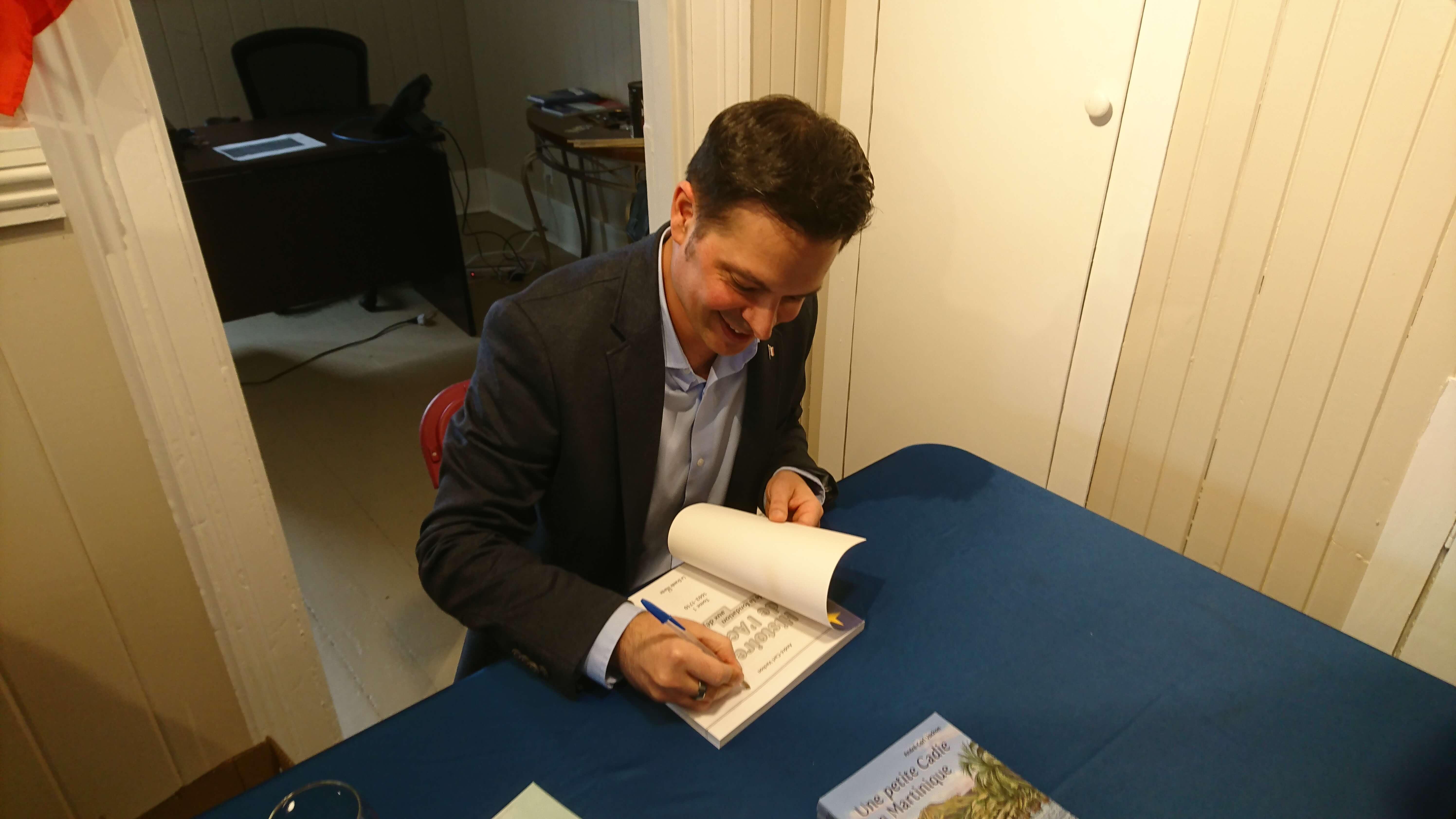 Lancement de livre pour André-Carl Vachon