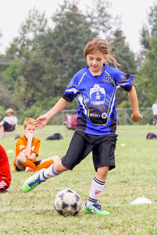 Aurélie Chouinard soccer Matane