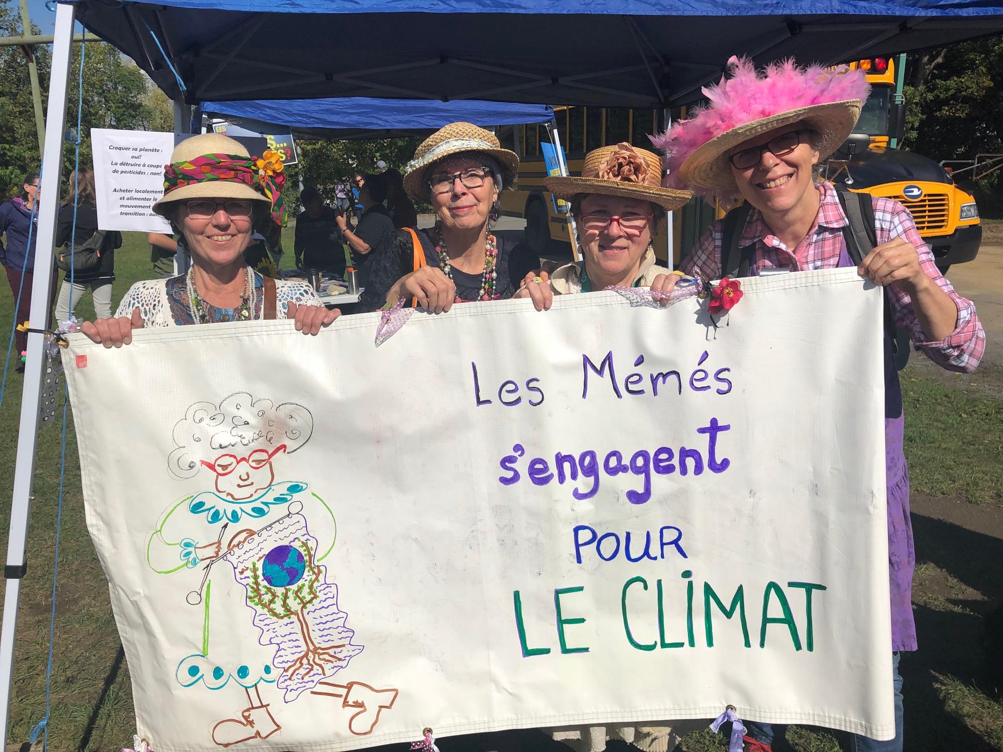 Mémés pour climat
