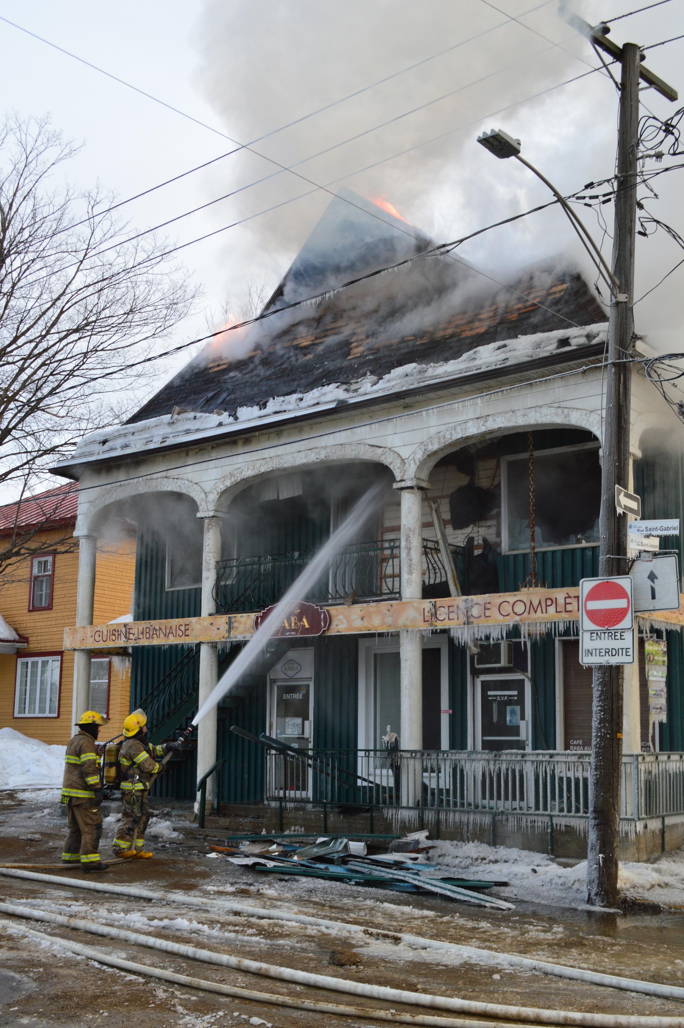 incendie Chez Baba