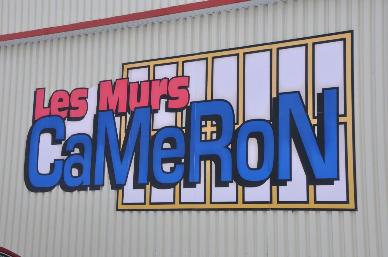 Les Murs Cameron deviennent Cameron Structures de Bâtiment