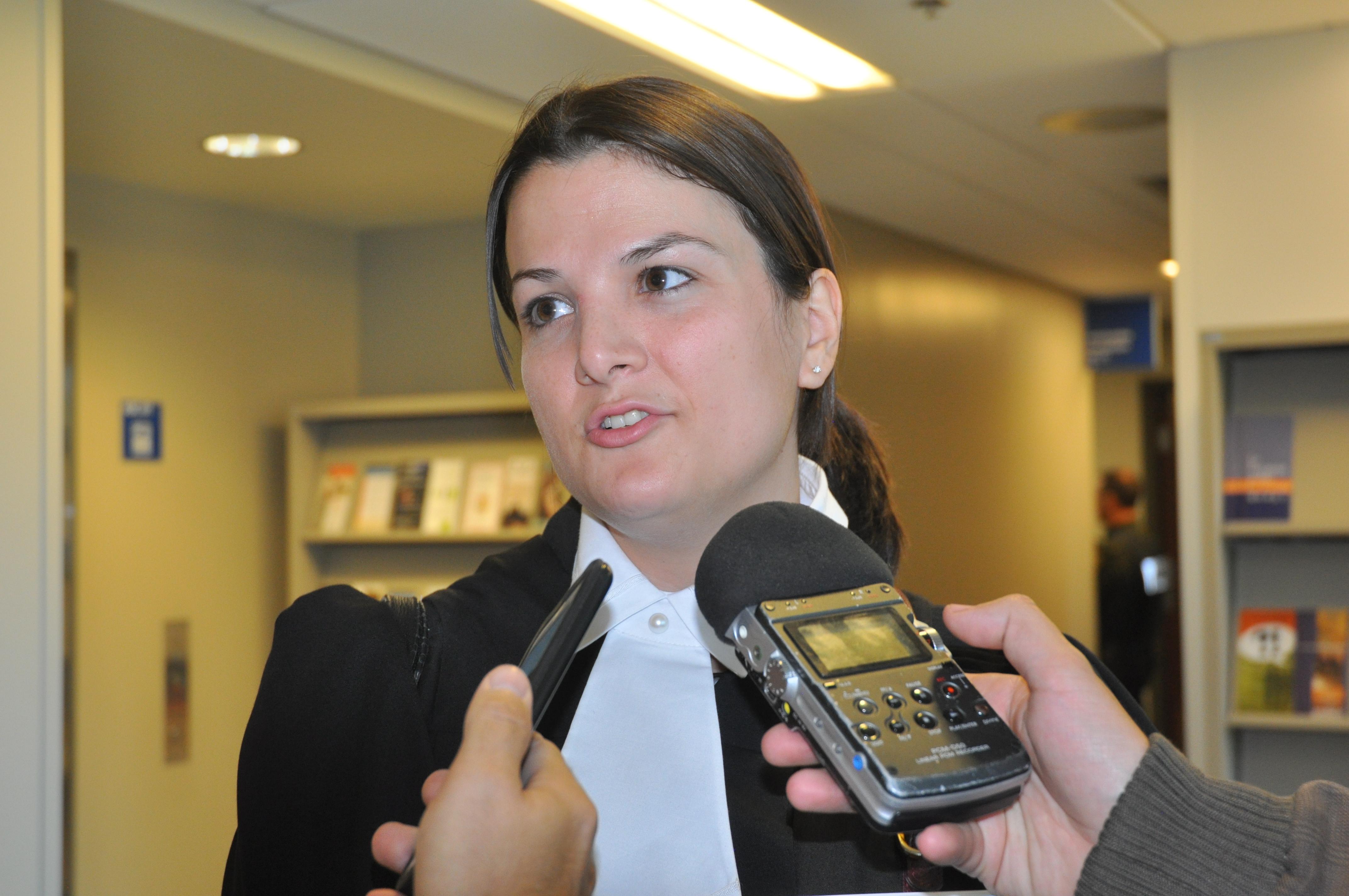 Julie Bolduc avocate