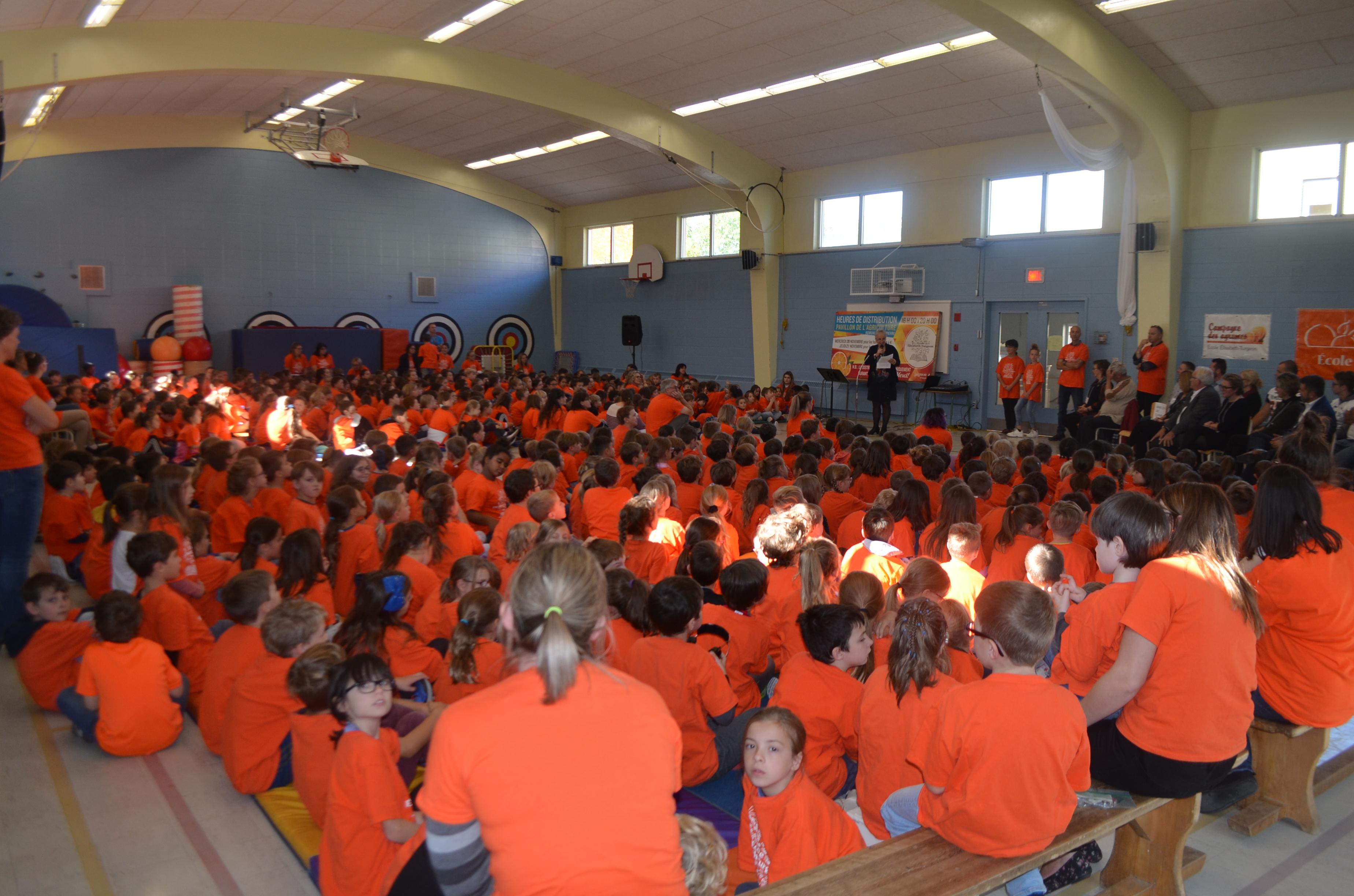 Près de 580 étudiants fréquentent cette école primaire à Rimouski.