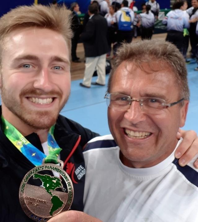 Alexandre St-Arneault ramène le bronze des championnats panaméricains
