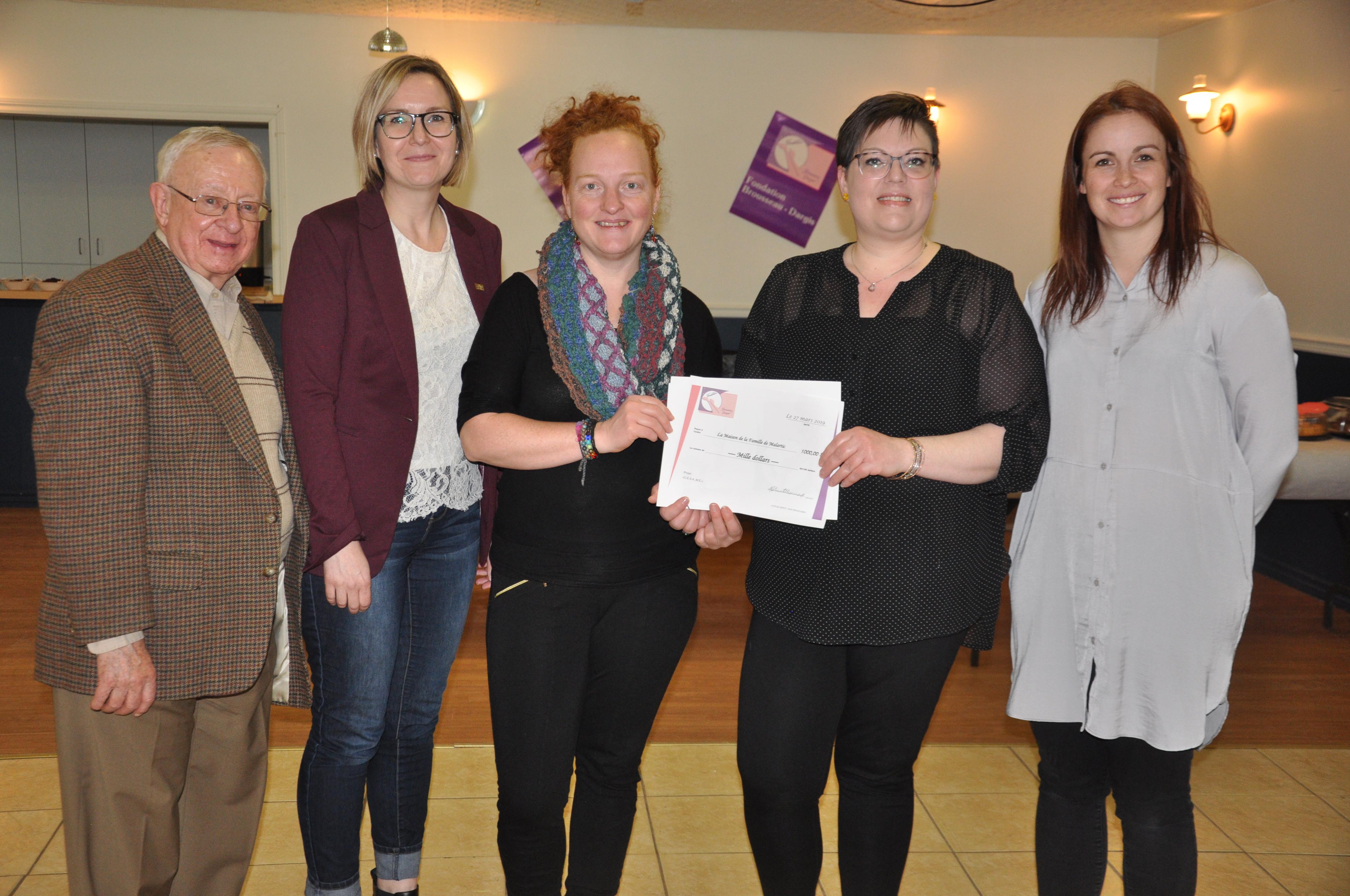 Fondation Brousseau-Dargis 2019 dons communautaire santé mentale organisme