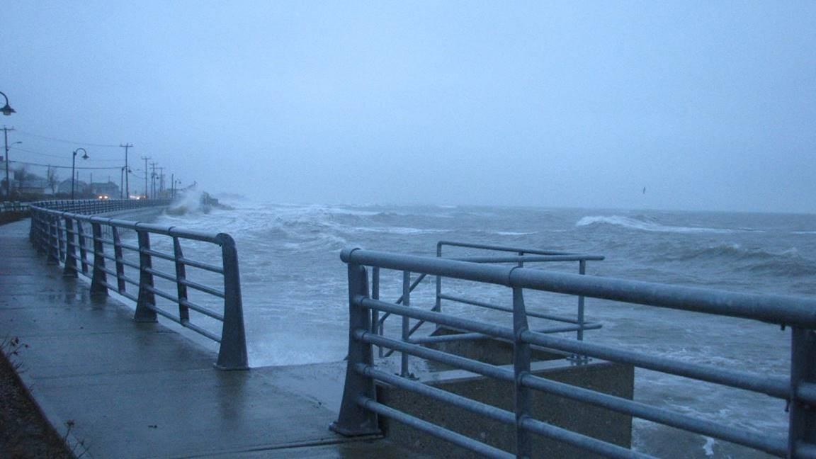 Grandes marées du 6 décembre 2010.