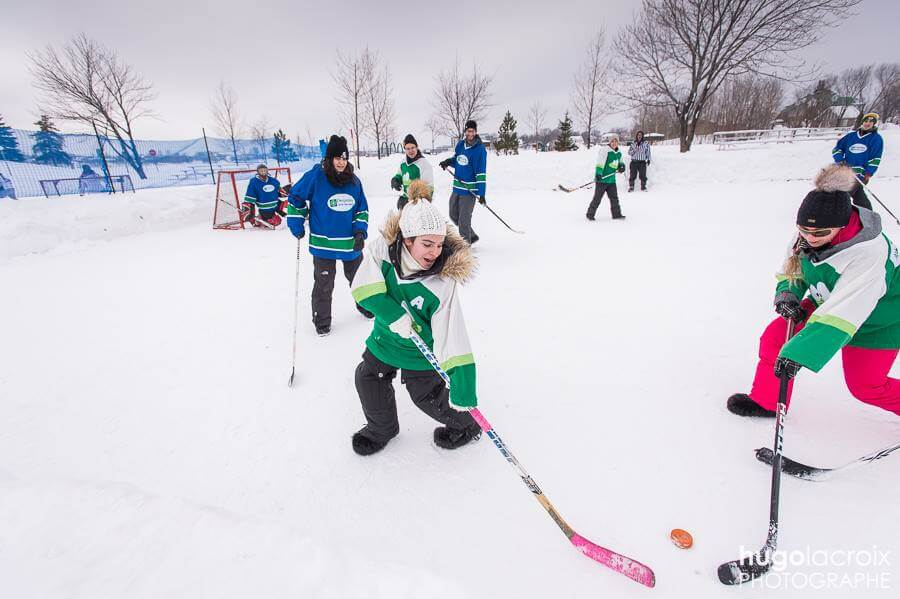 Fête d'Hiver Rouyn-Noranda hockey