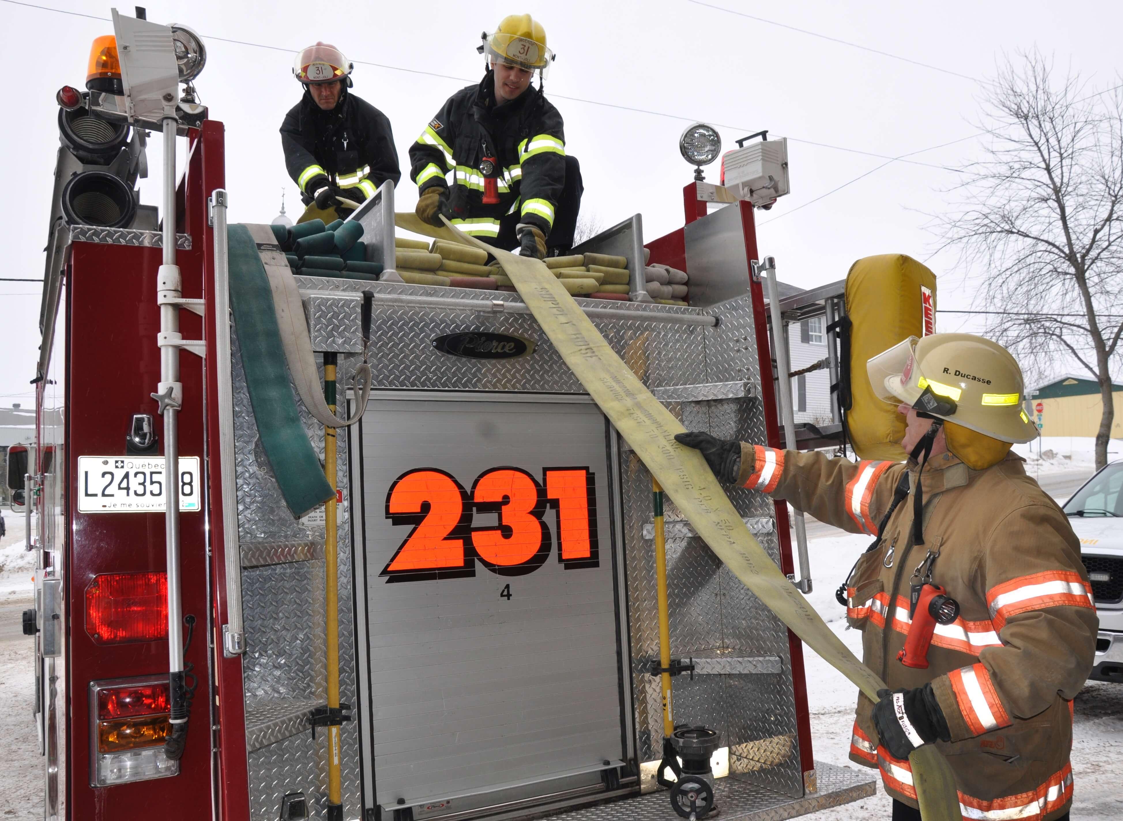 Pompiers Mont-Joli