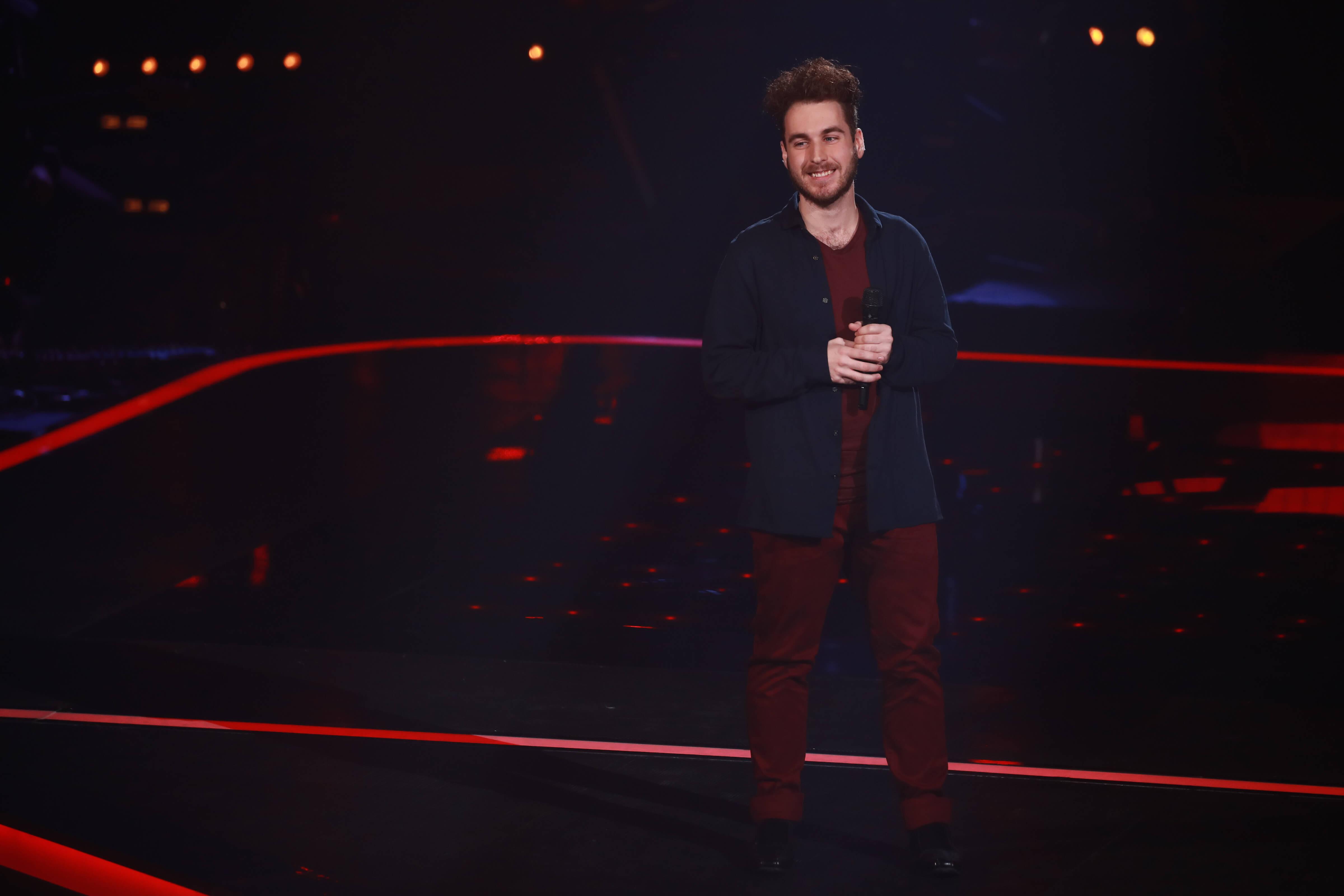 Sébastien Gravel, La Voix 2019