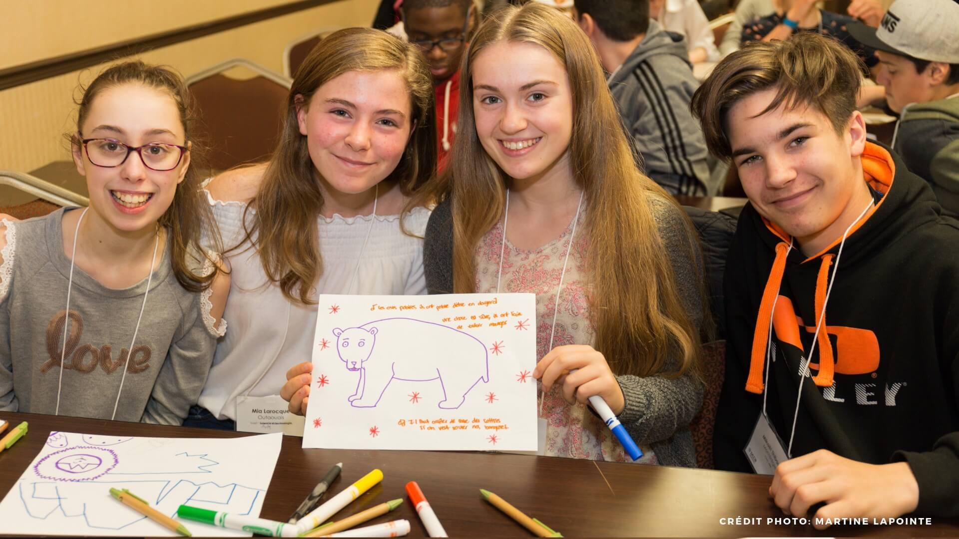 Le Sommet jeunesse sur les changements climatiques 2019
