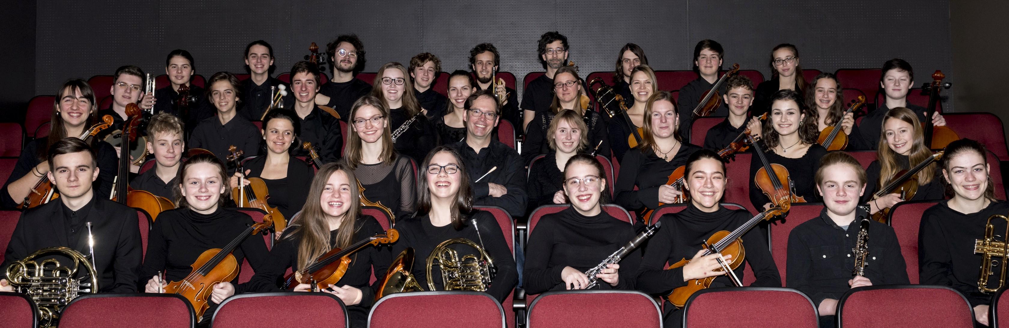 L'Orchestre des jeunes du Québec maritime (OJQM).