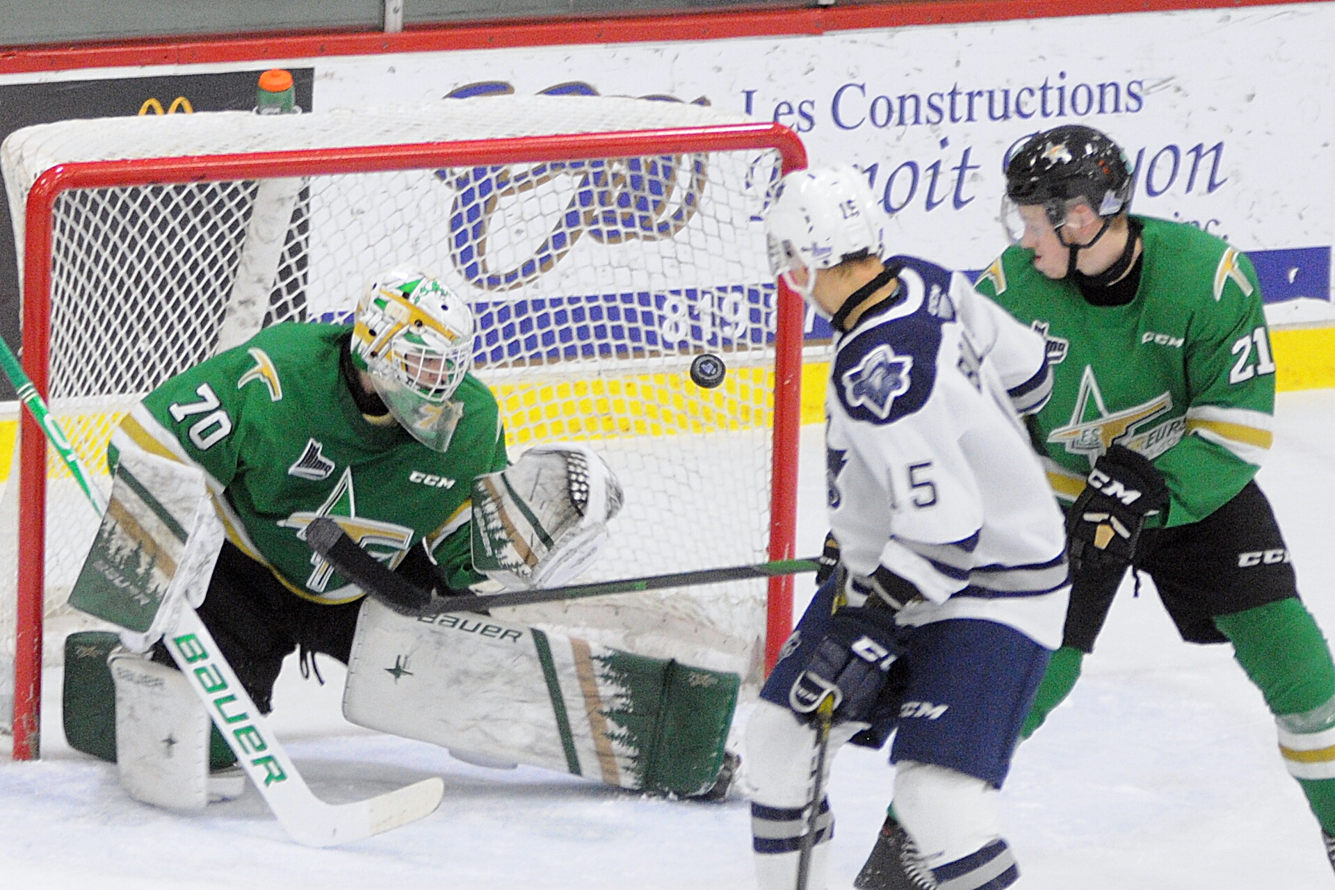 Océanic Rimouski - Foreurs Val-d'Or