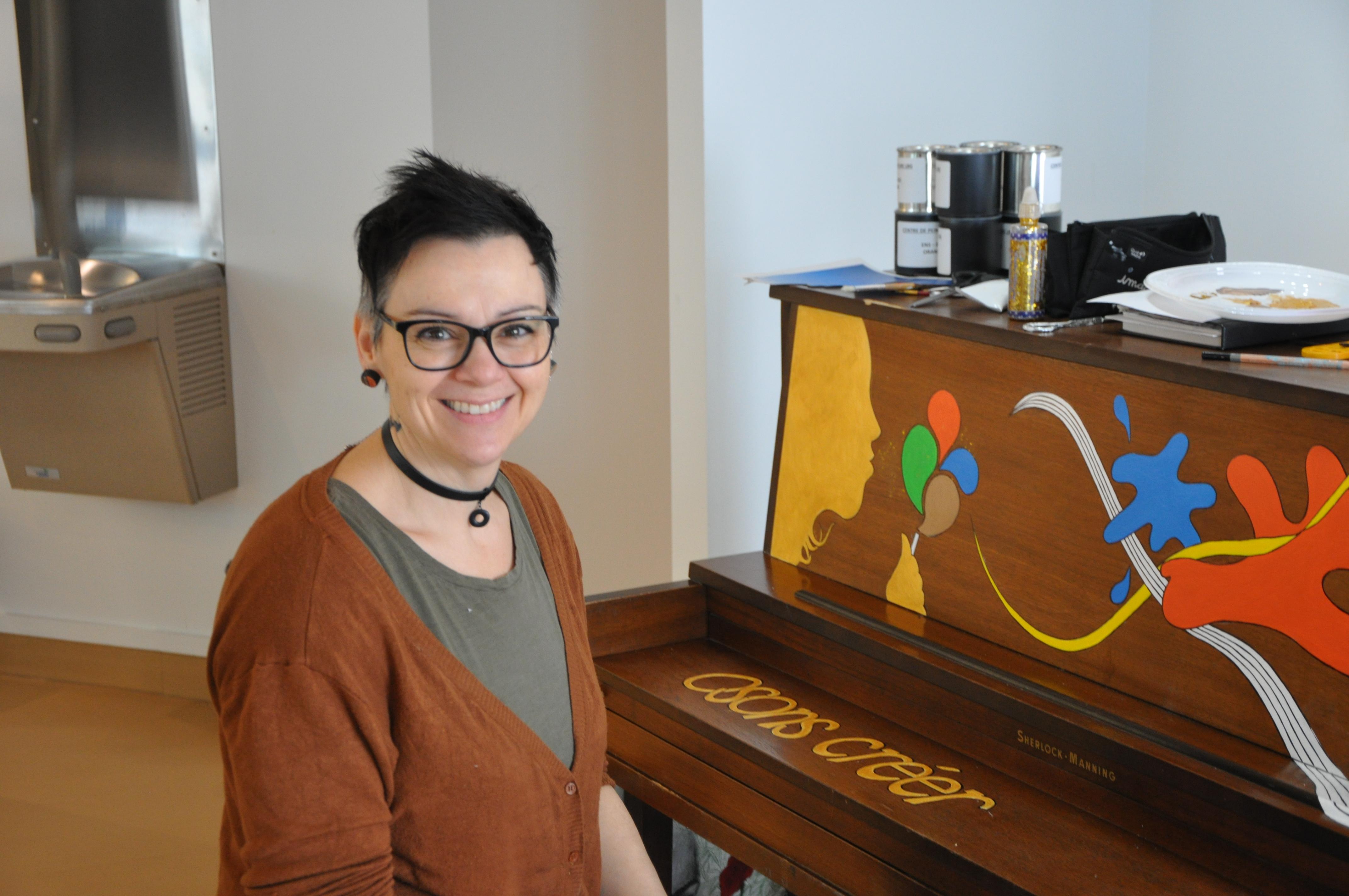 Sophie Royer piano public La Sarre