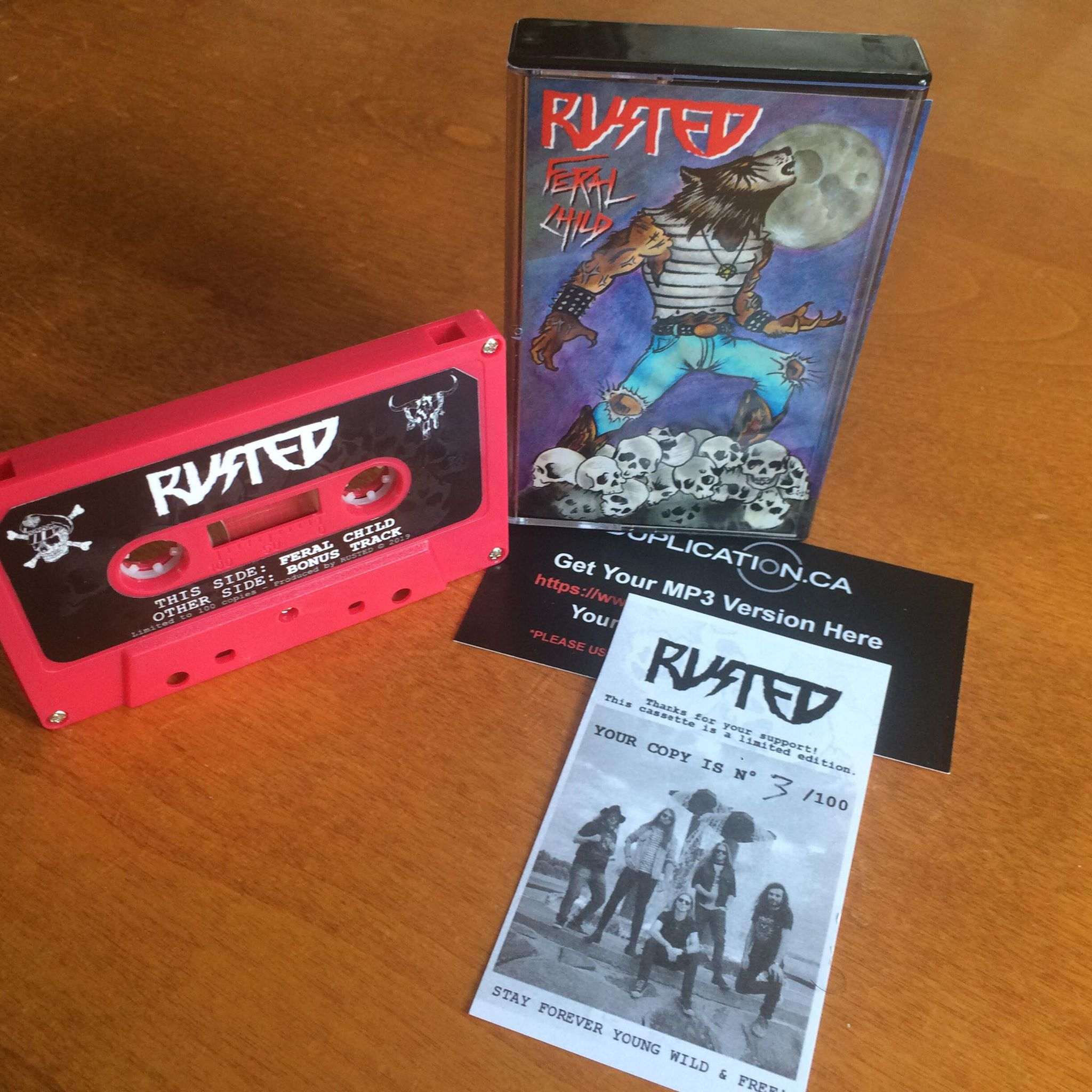 Rusted Cassette