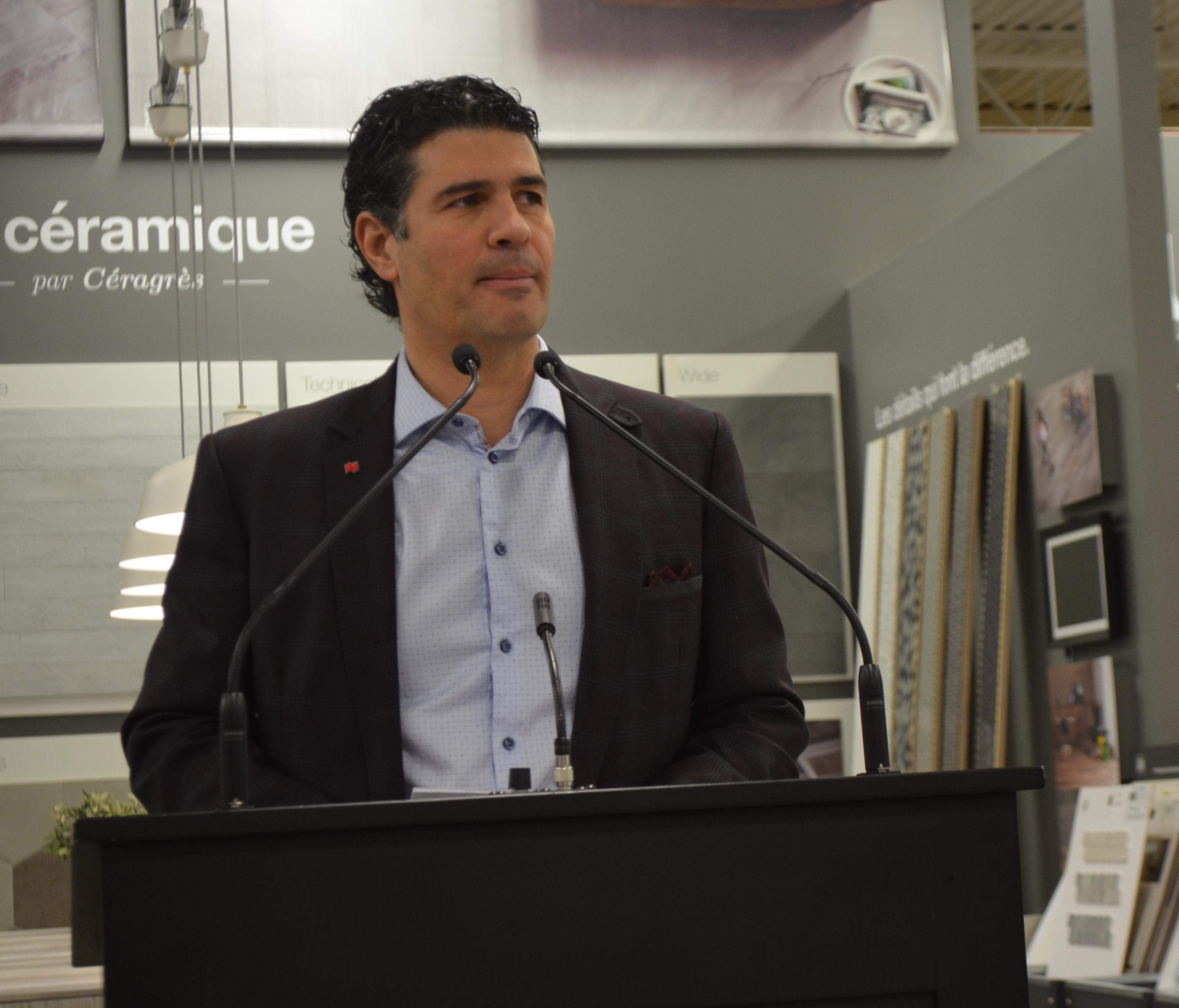 Louis Khalil, président de la Campagne de dons majeurs de la Fondation du CHRR.