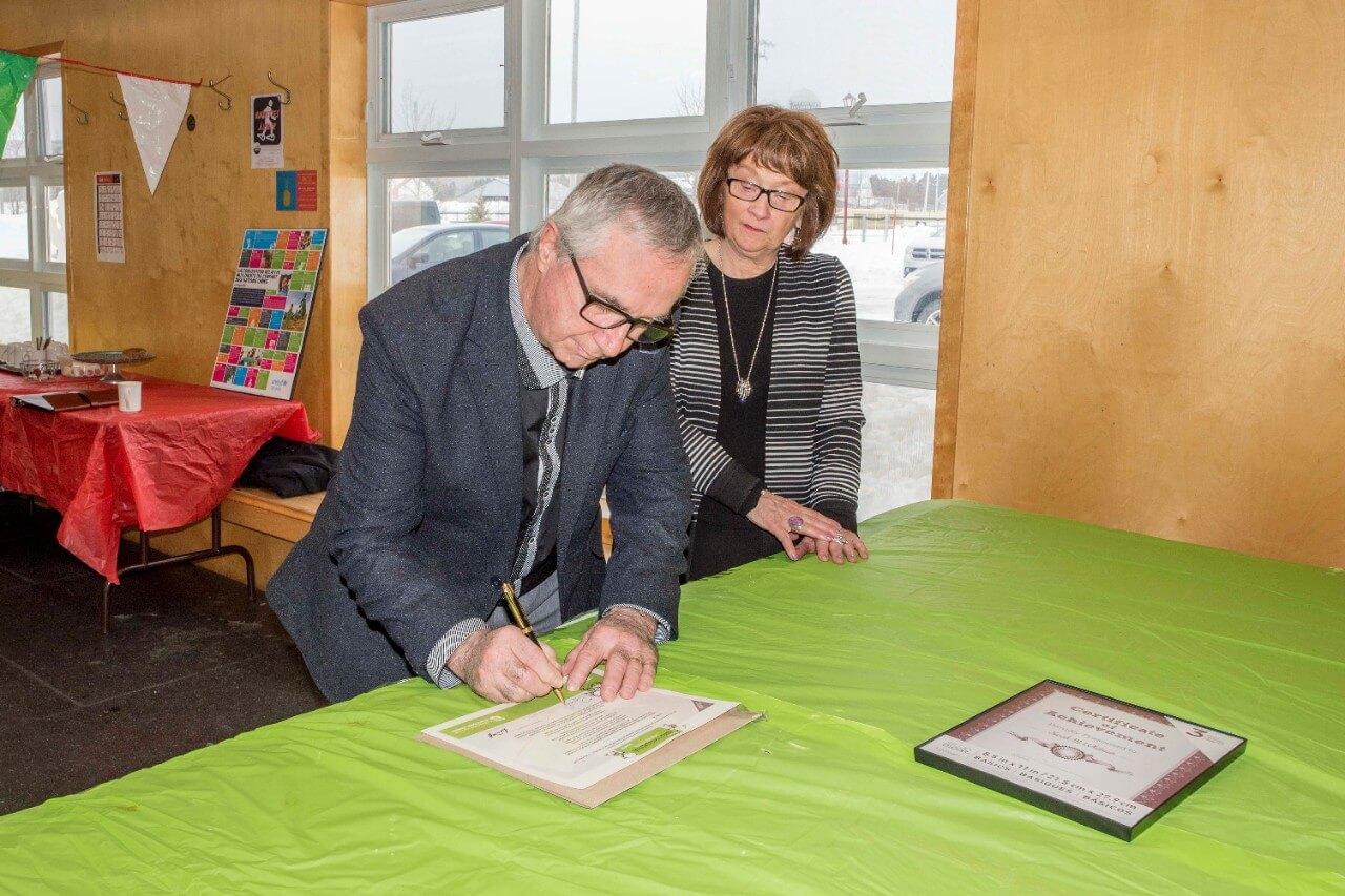 Signature Saint-Ulric municipalité amie des enfants