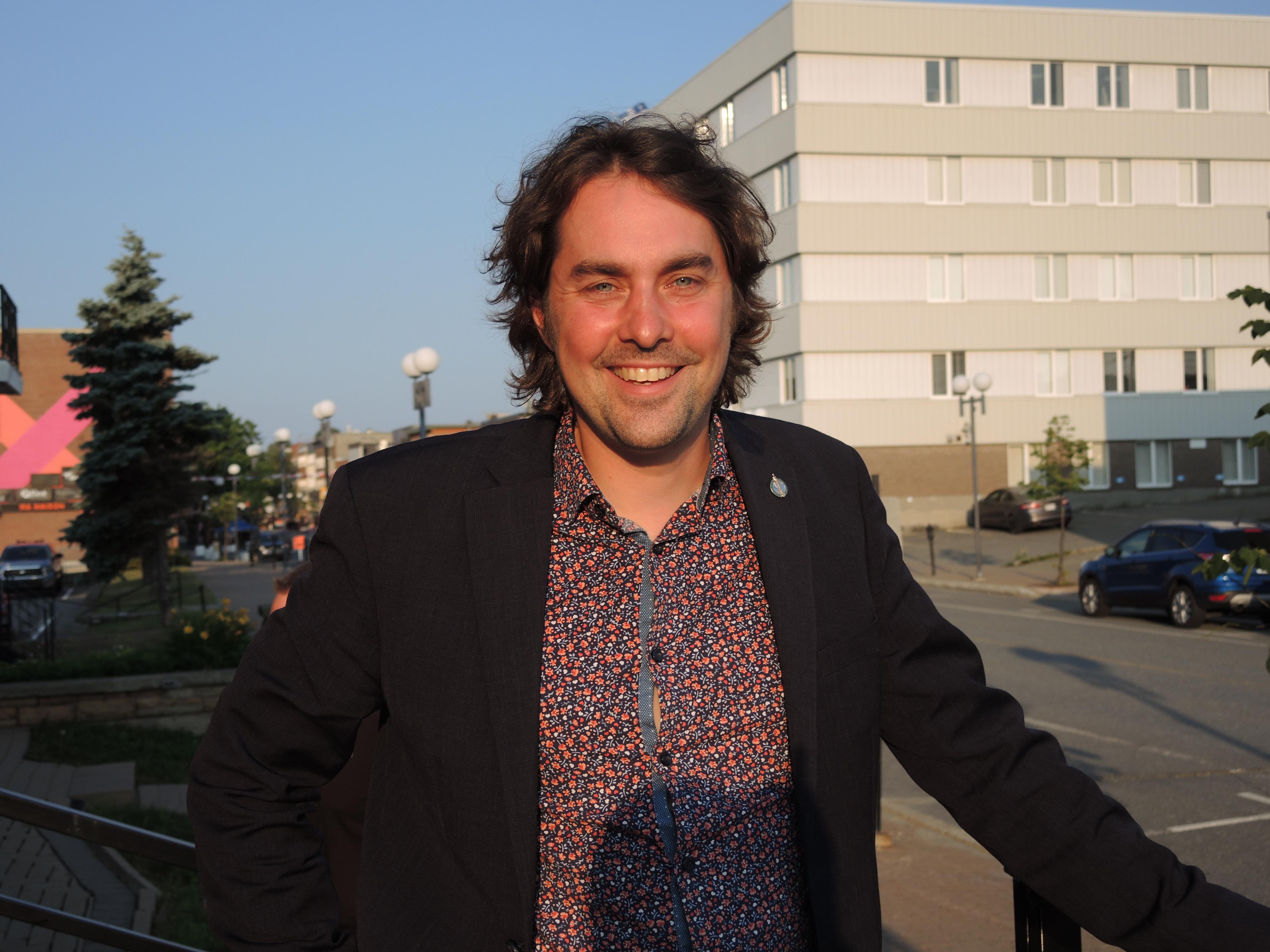 Sébastien Lemire Bloc québécois Abitibi-Témiscamingue