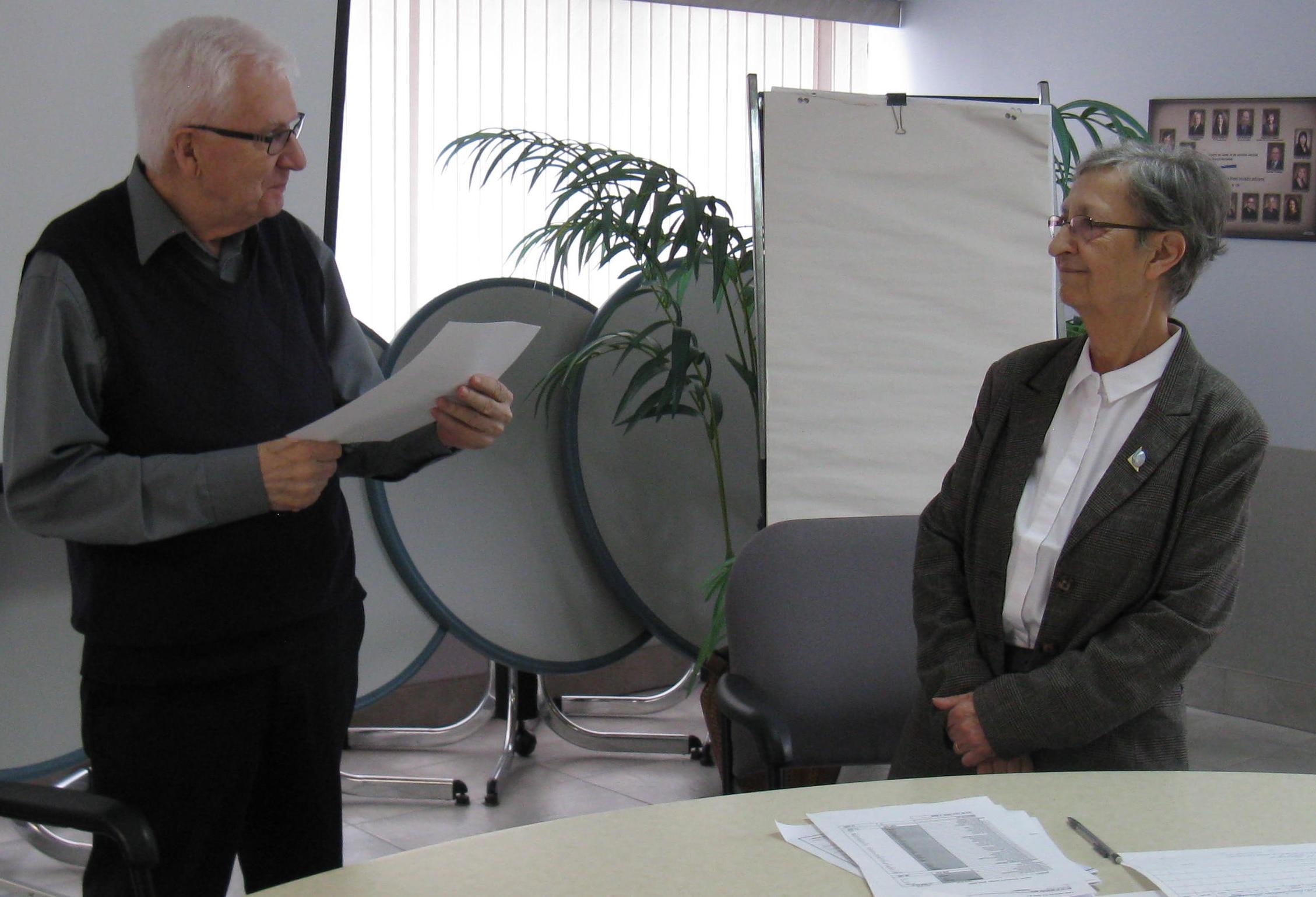 Julianne Pilon Table régionale de concertation des personnes aînées de l'Abitibi-Témiscamingue