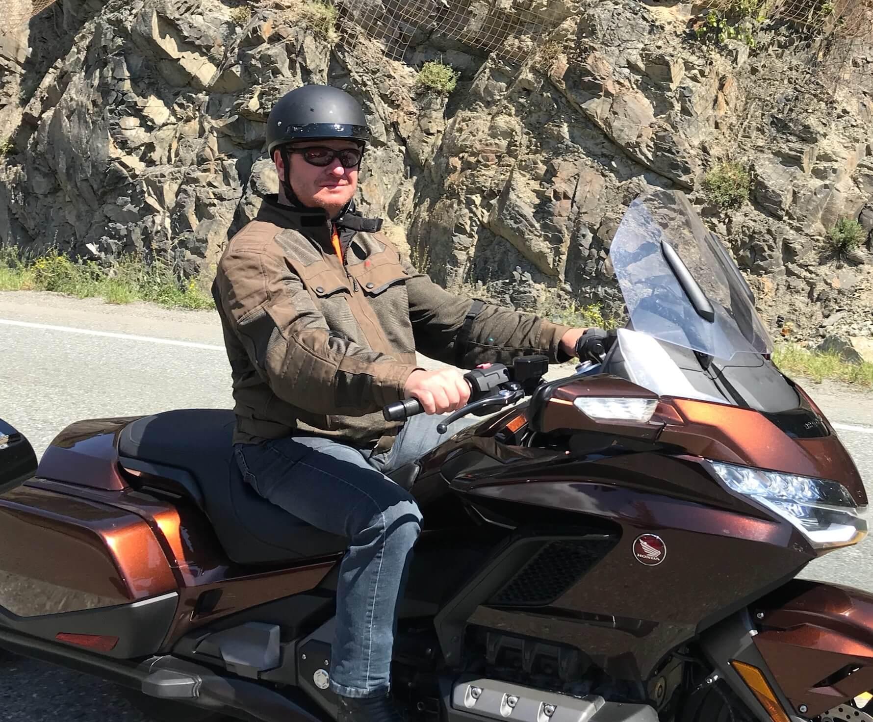 Jean-Pierre Thibault moto
