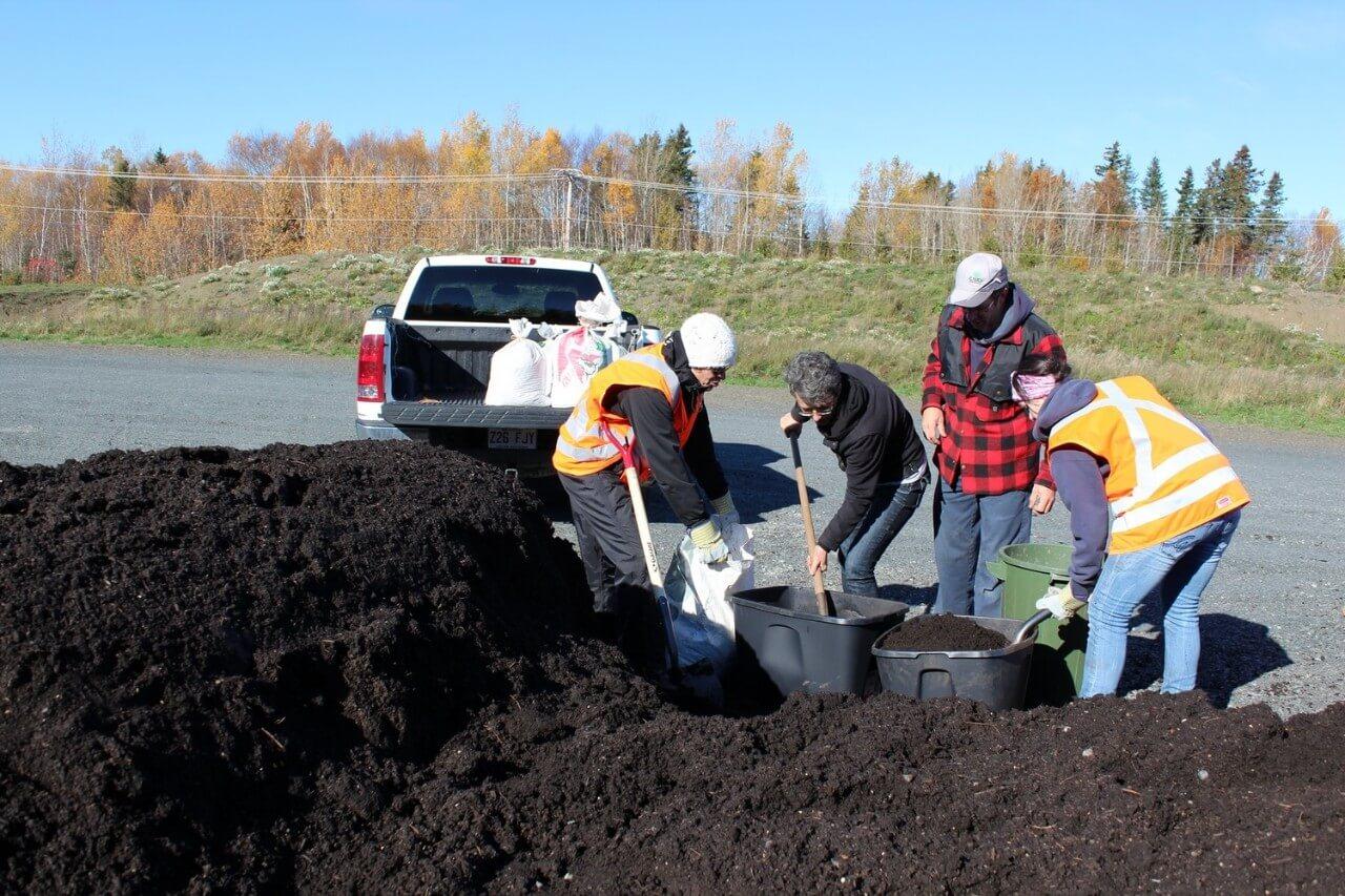 Distribution compost