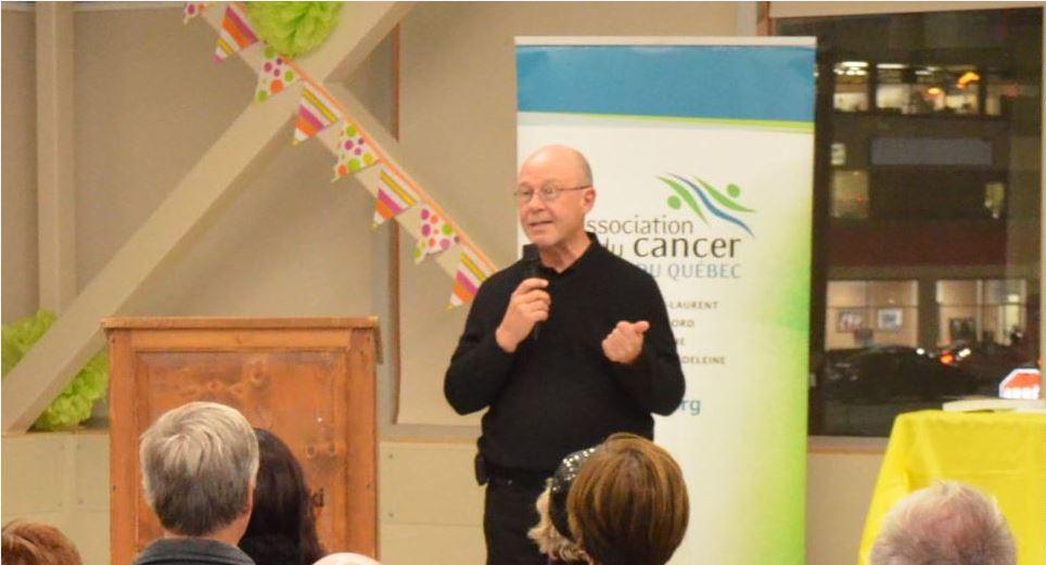 Daniel Bénéteau, président de l'Association du cancer Est-du-Québec.