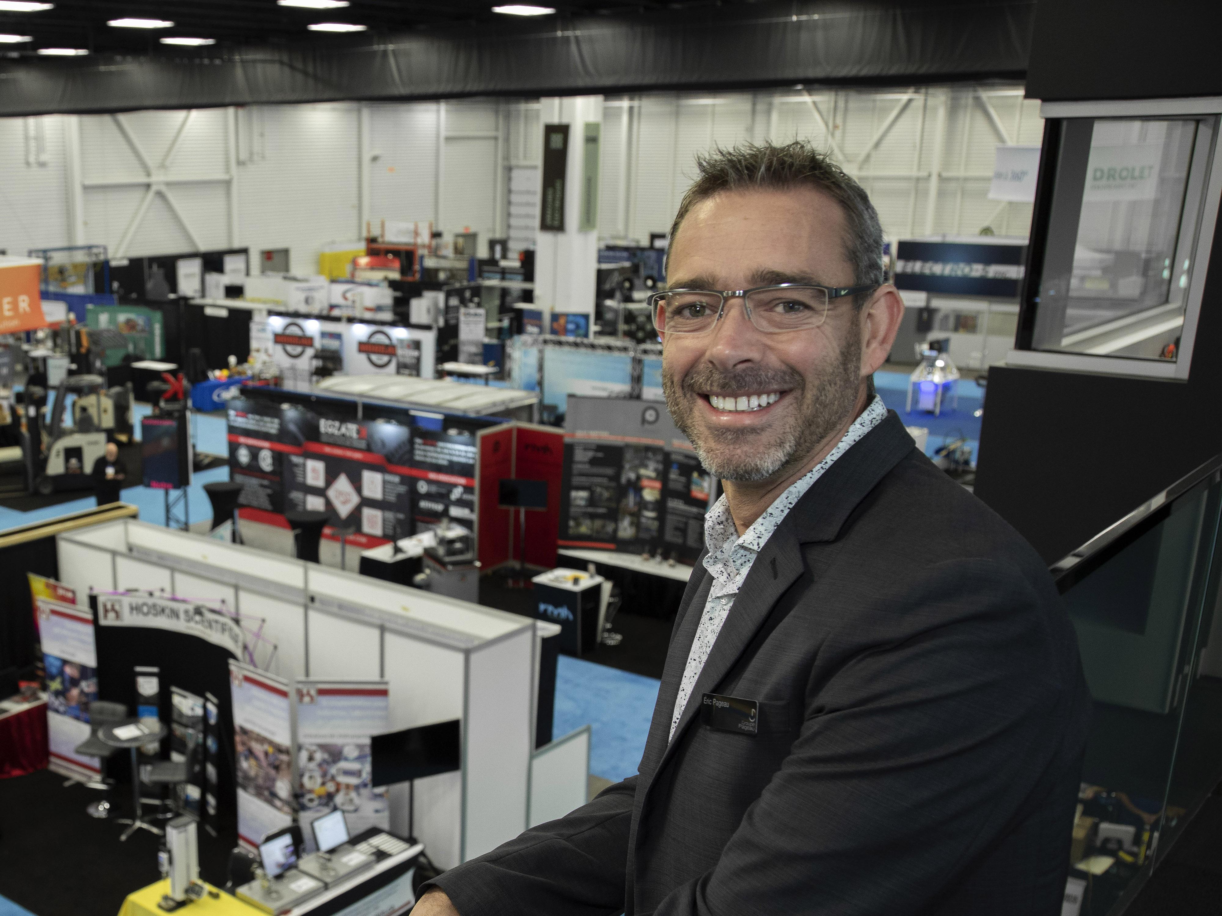 Éric Pageau, président du Groupe Pageau,