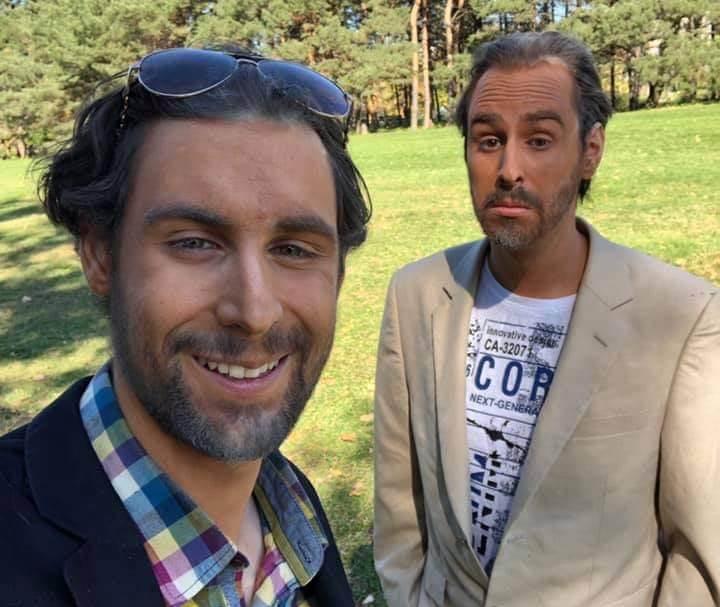 Simon et Mathieu Portelance