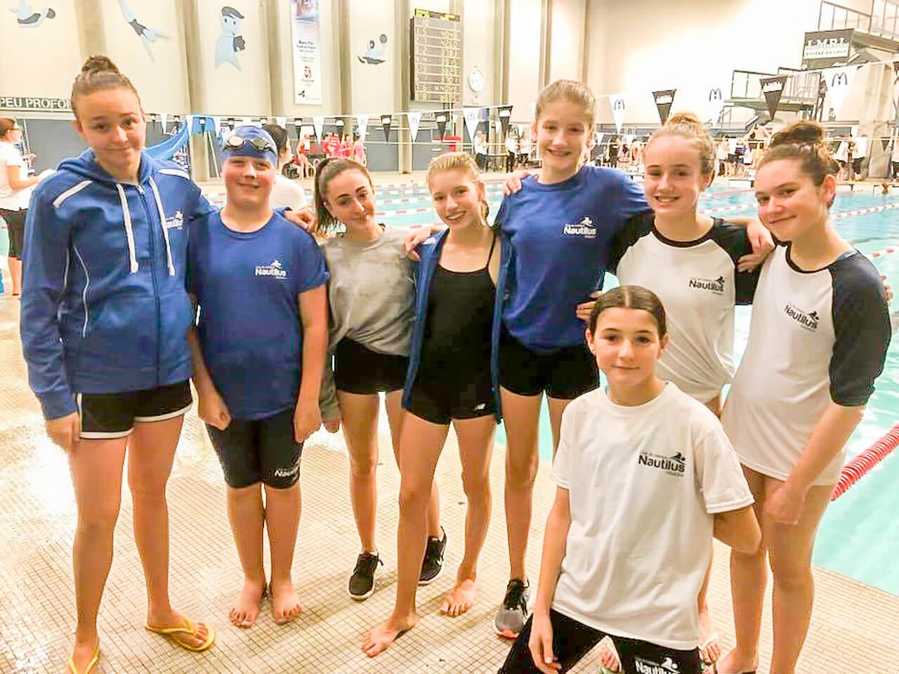 Nautilus de Matane club de natation Sandy Tremblay