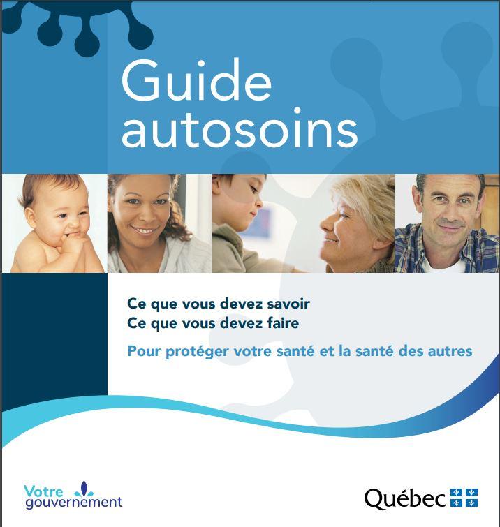 Le Guide autosoins du gouvernement du Québec.