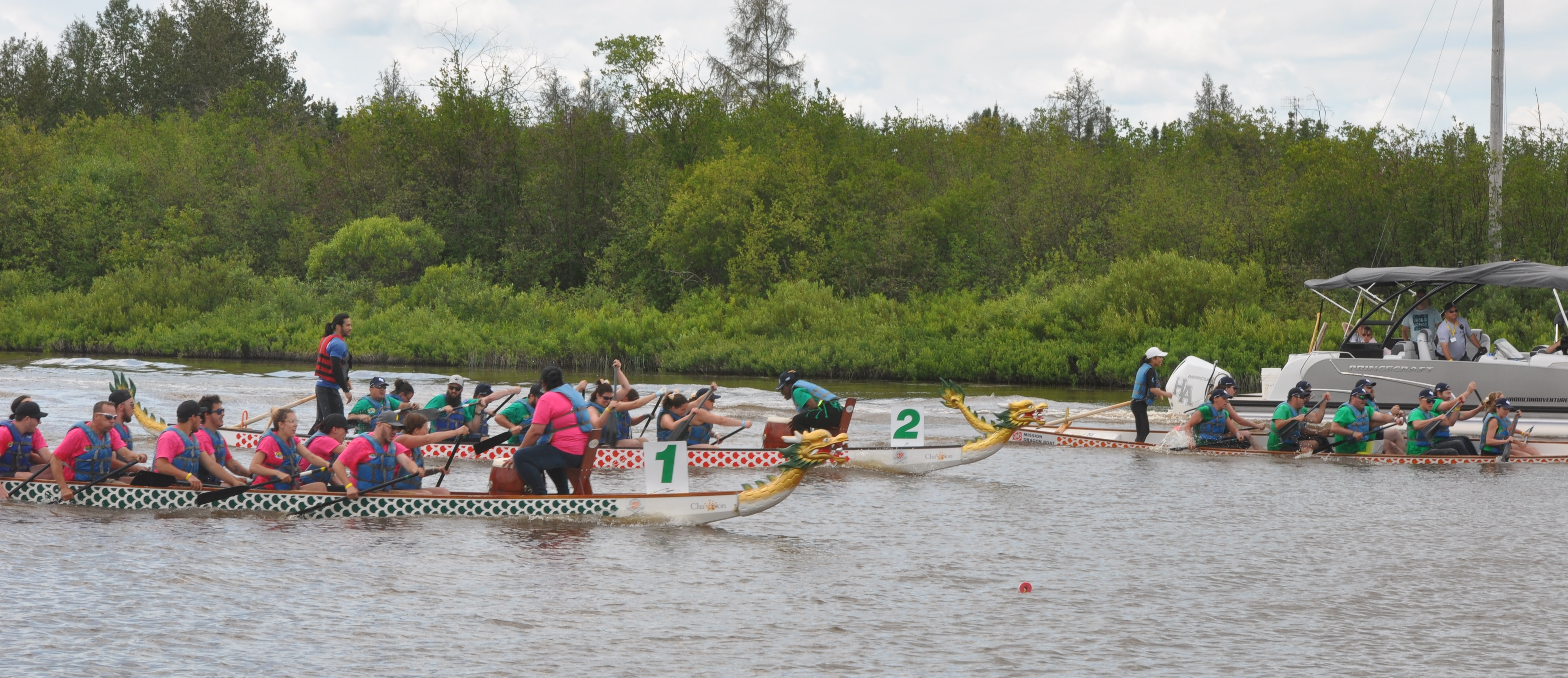 Course bateaux-dragons - H20
