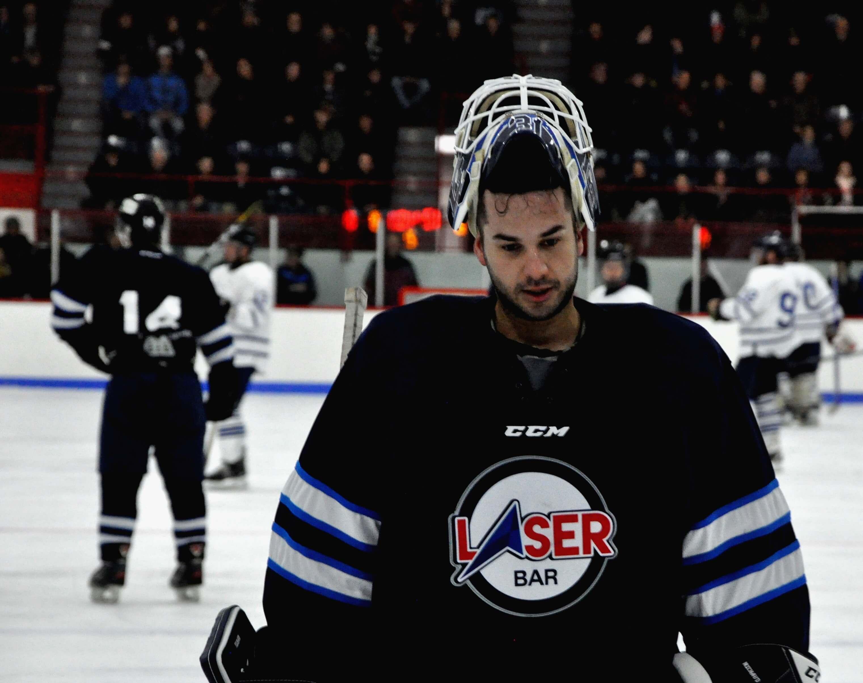 Hockey senior Laser