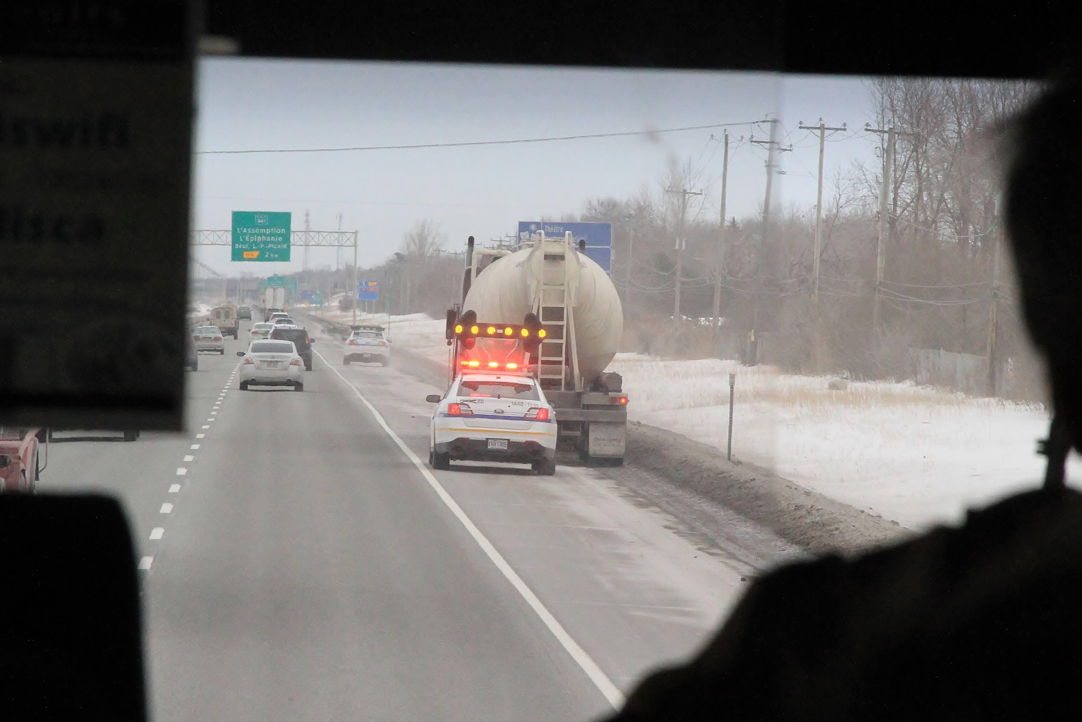 opération autobus controleurs routiers