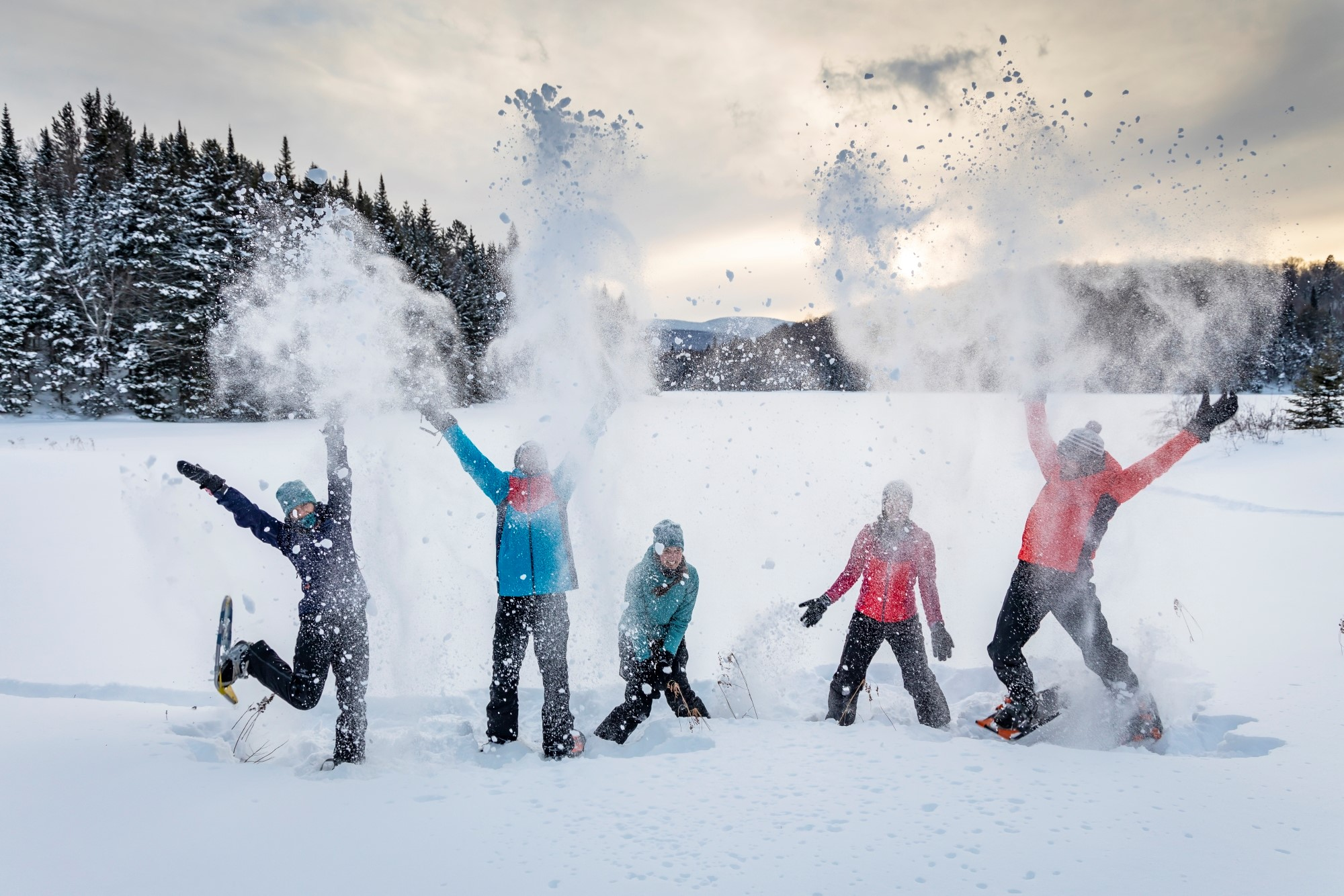 La Journée d'hiver Sépaq, une occasion pour redécouvrir le plein air d'hiver et apprécier la beauté exceptionnelle du Parc du Bic.