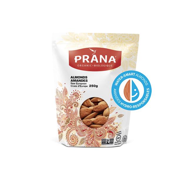 Trouvailles nutrition_PRANA Amandes