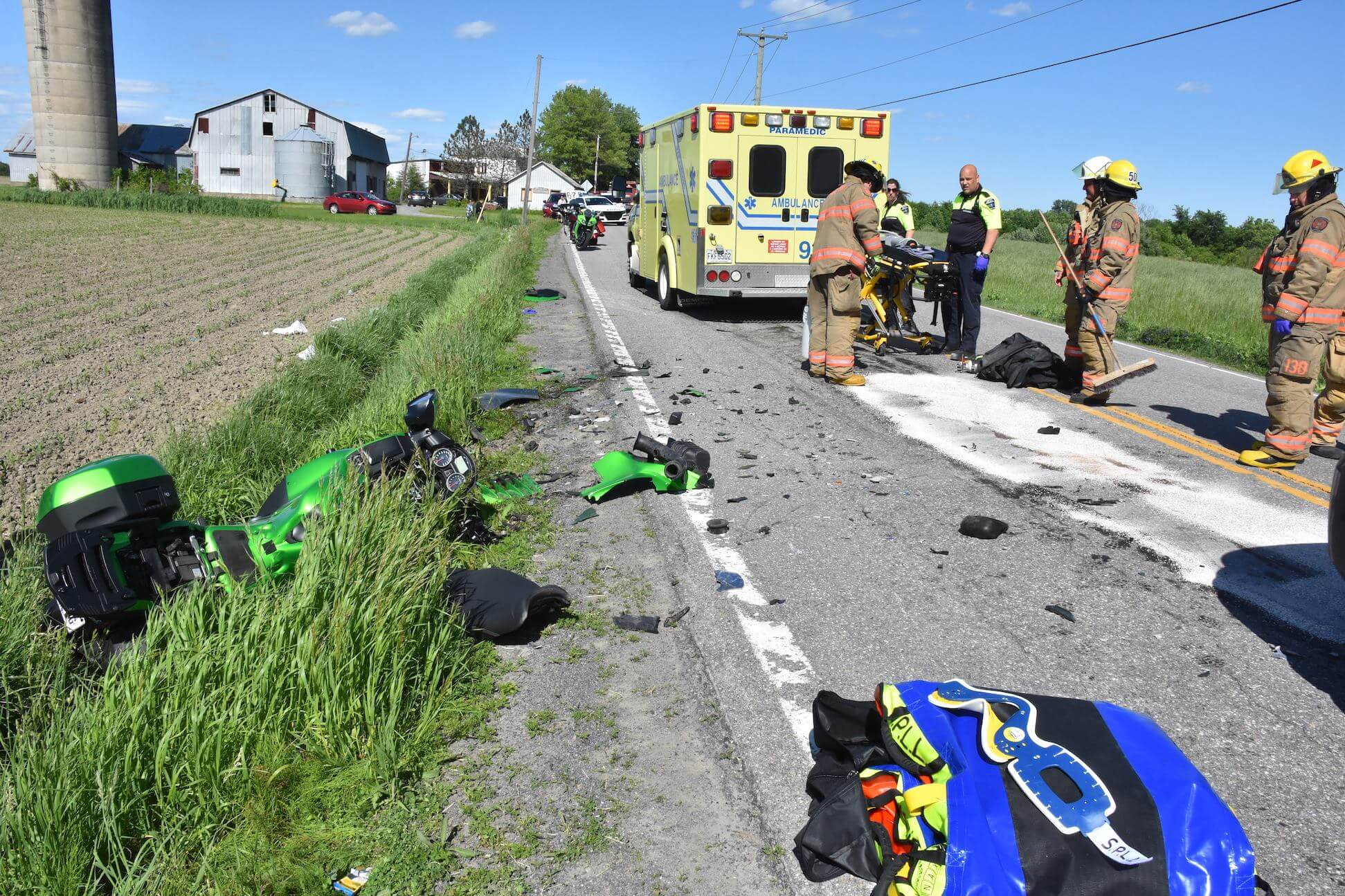 Accident Saint-Roch-Ouest