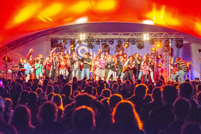 Les Cowboys fringants Éole en musique festival Matane