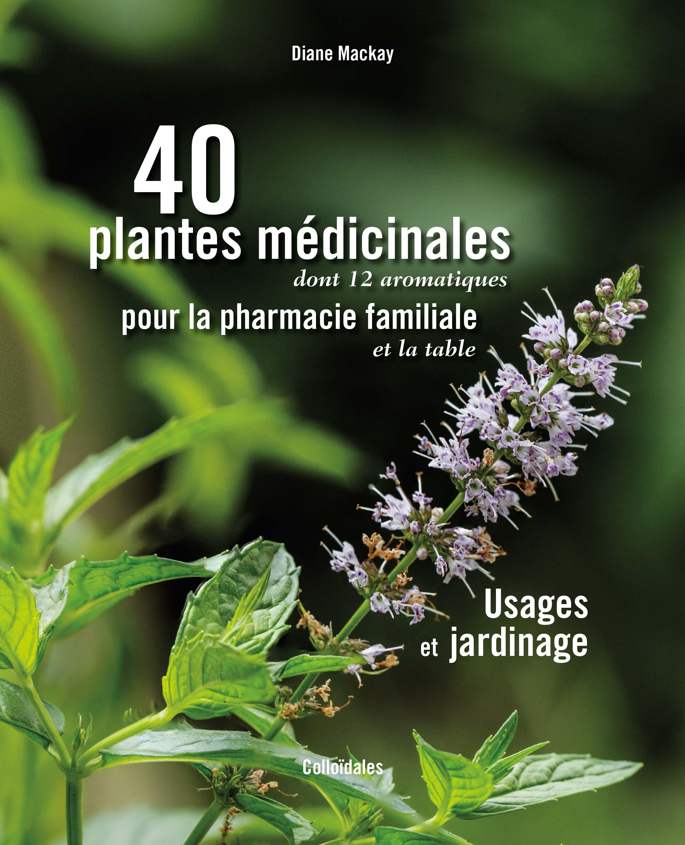 40 plantes médicinales couverture