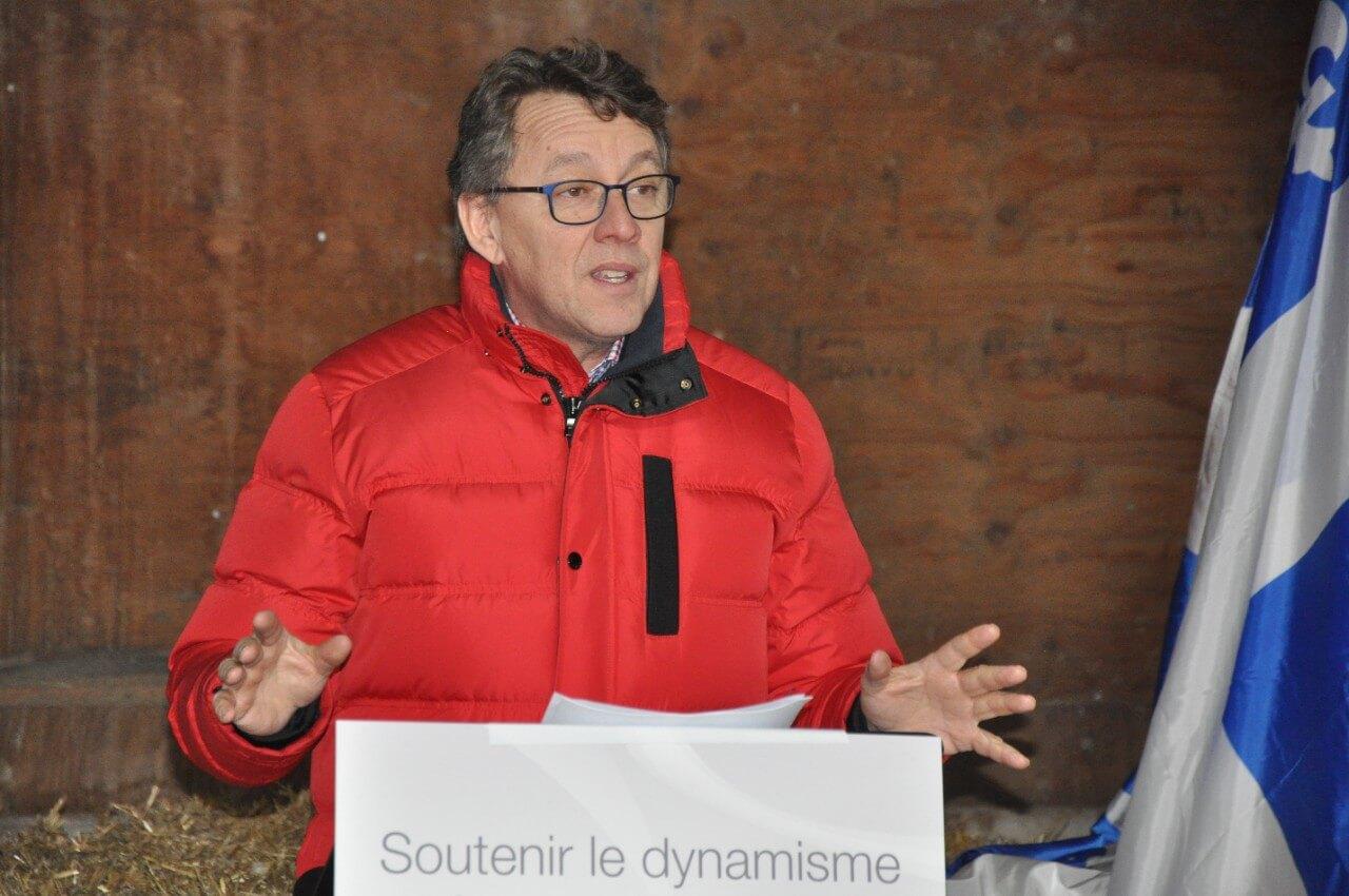 Investissements de 59,8 M$ en agriculture annoncés à Saint-Narcisse